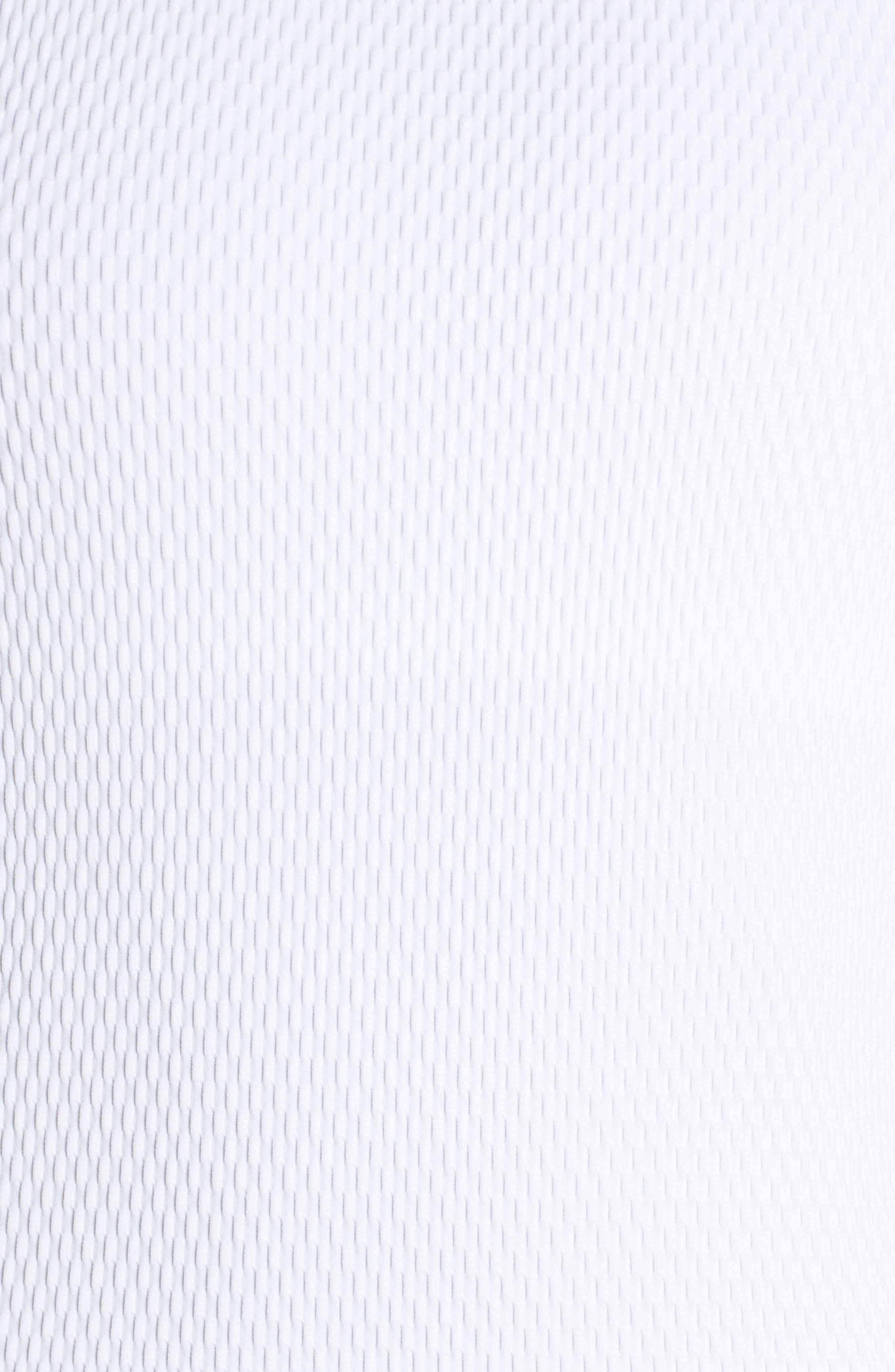 X-Back Top,                             Alternate thumbnail 6, color,                             White Waffle