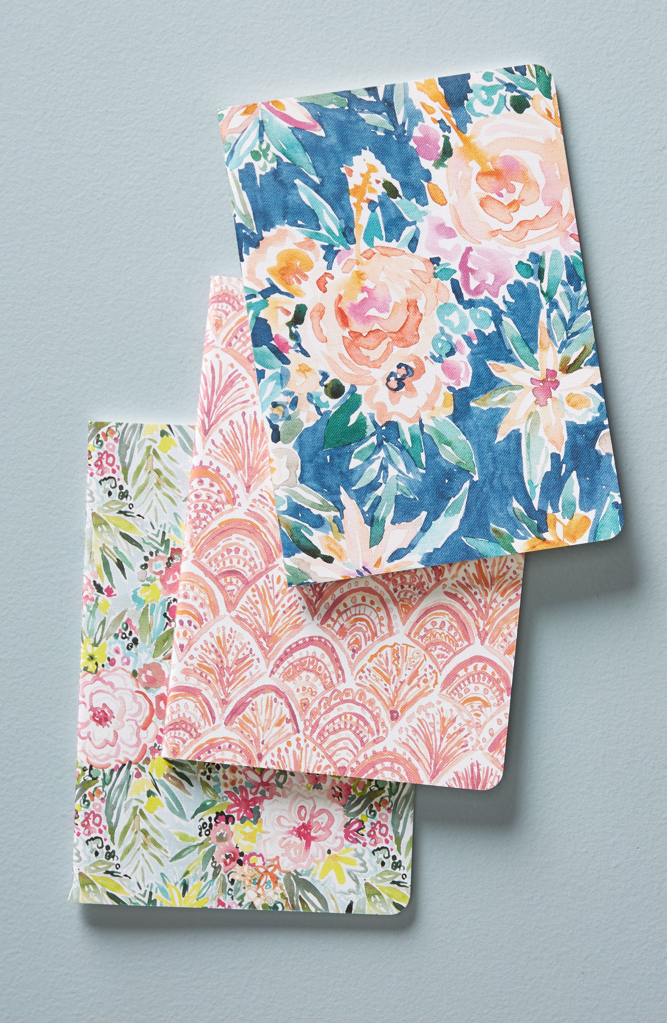 Wild At Heart Set of 3 Journals,                         Main,                         color, Blue Combo