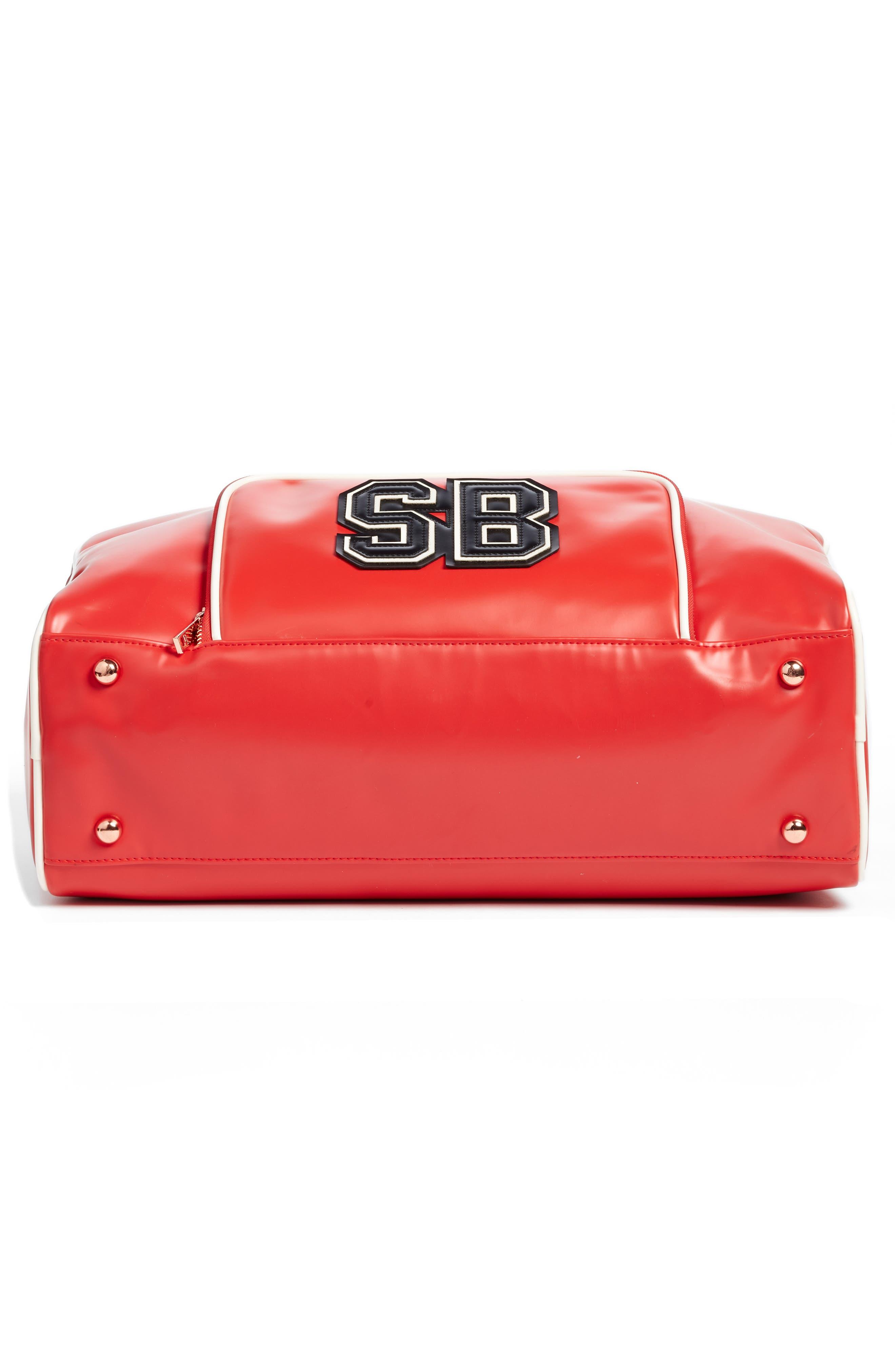 Bowler Bag,                             Alternate thumbnail 6, color,                             Scarlet Red