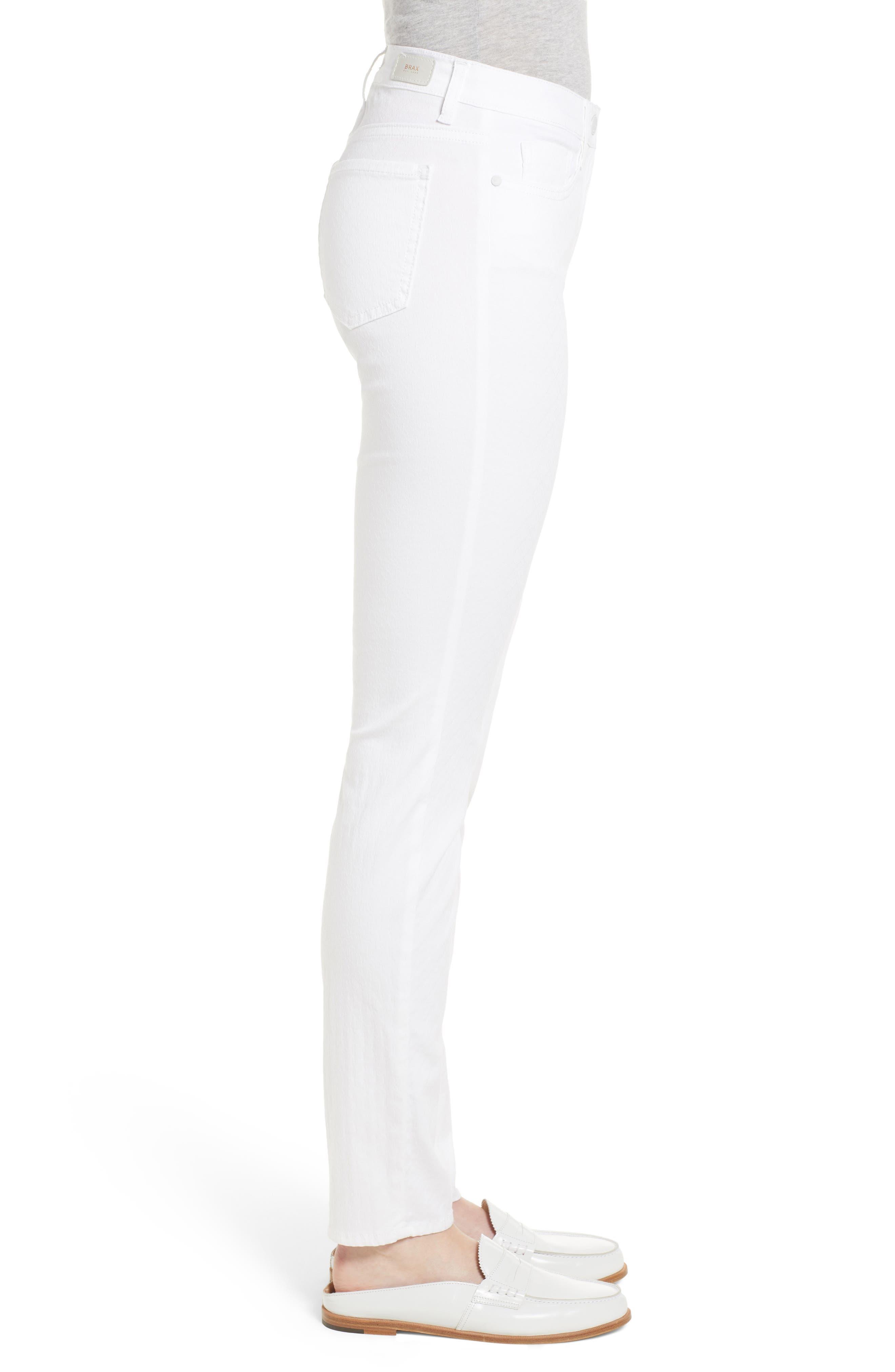 Shakira White Jeans,                             Alternate thumbnail 3, color,                             White