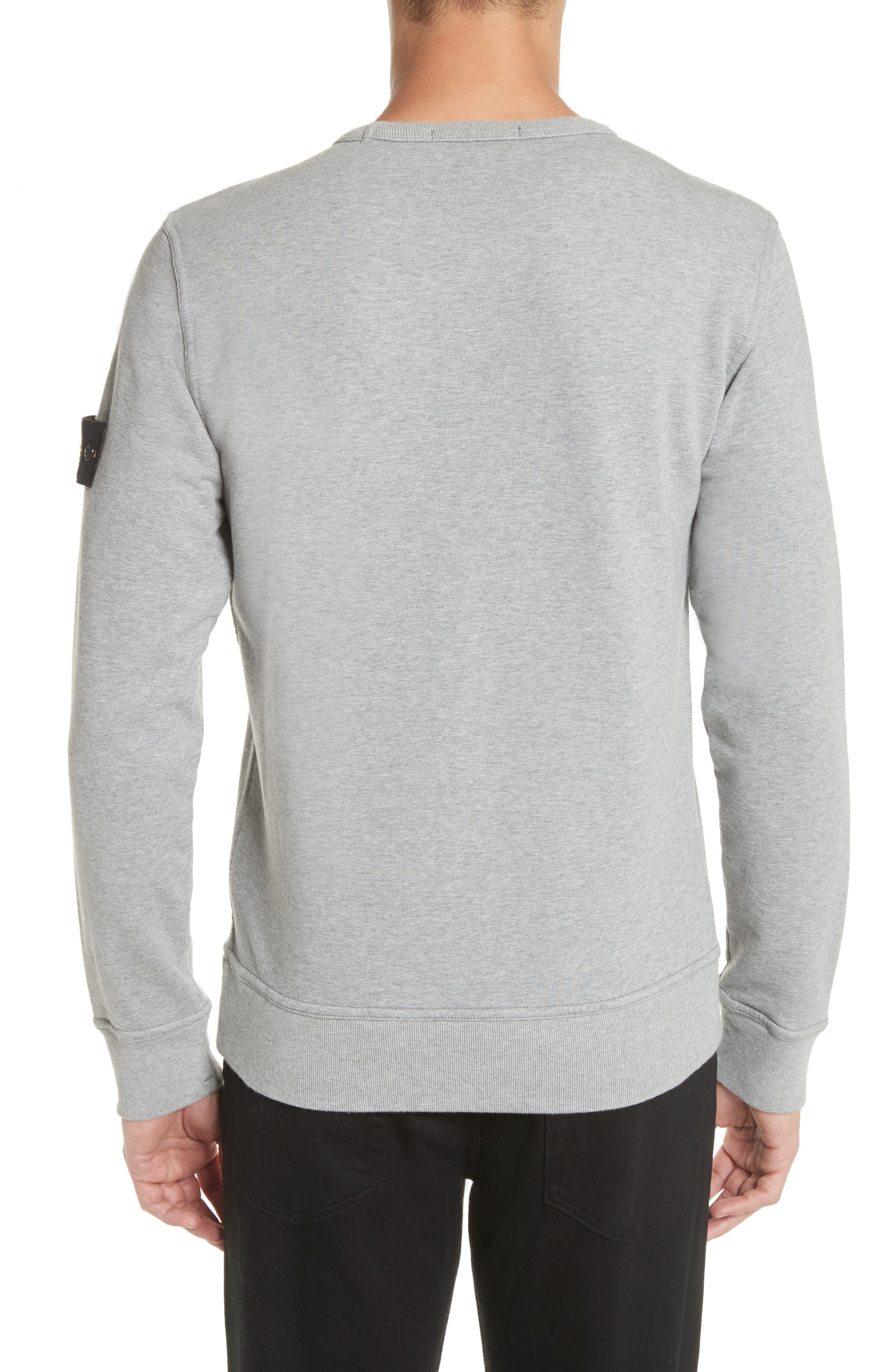 Pocket Sweatshirt,                             Alternate thumbnail 2, color,                             Grey