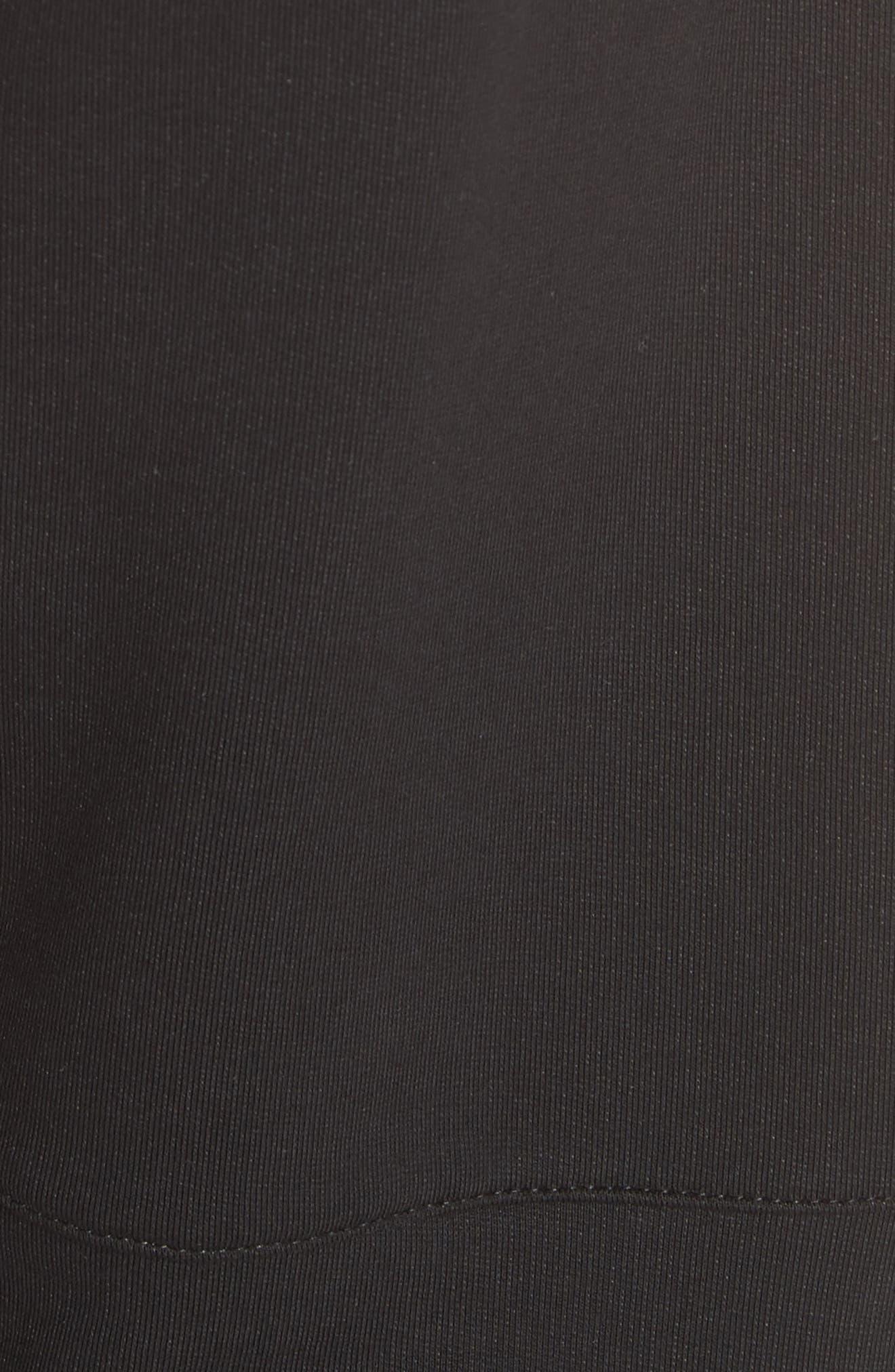 Zip Jogger Pants,                             Alternate thumbnail 5, color,                             Black