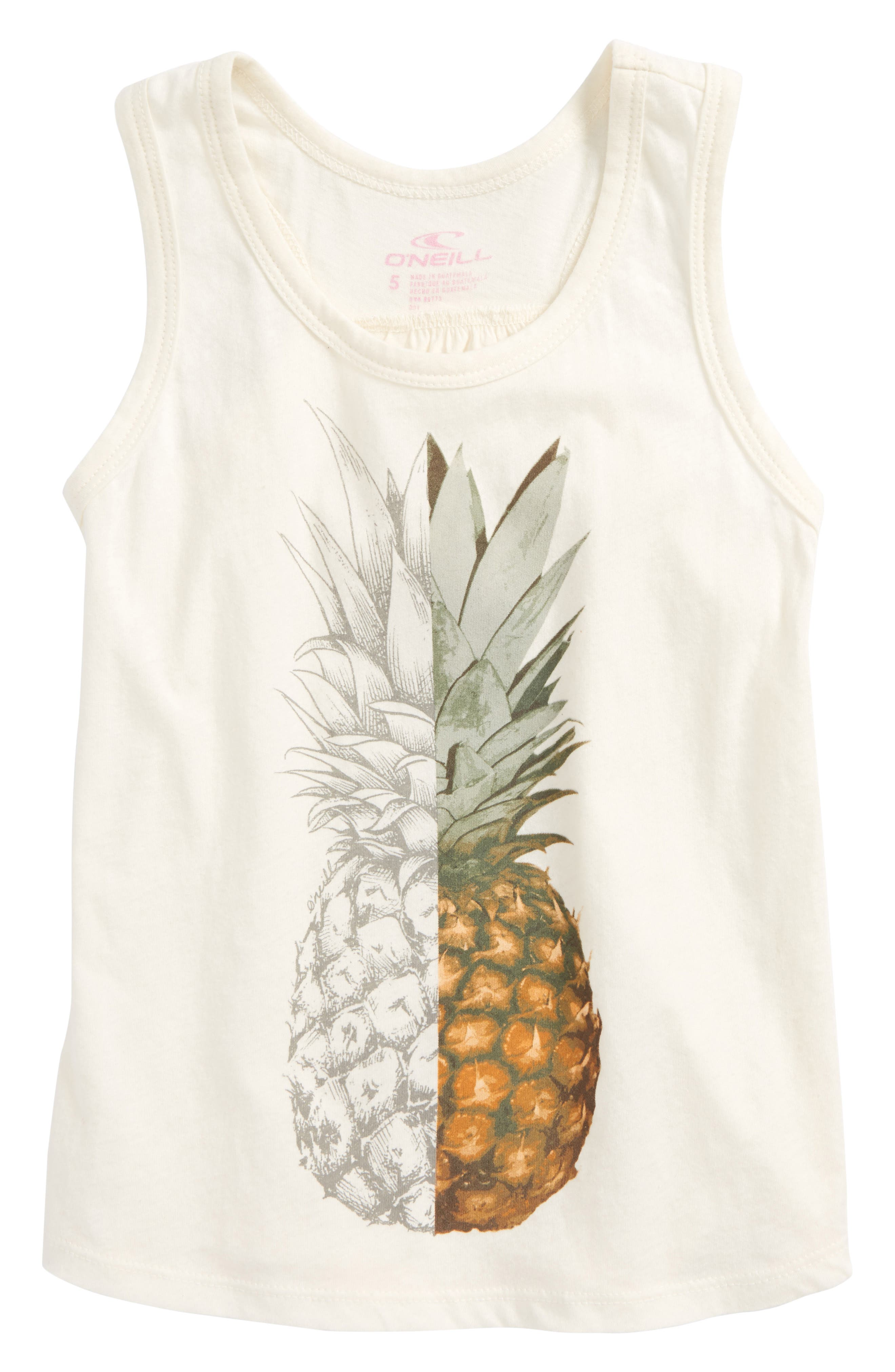Slice Graphic Tank,                         Main,                         color, Ivory