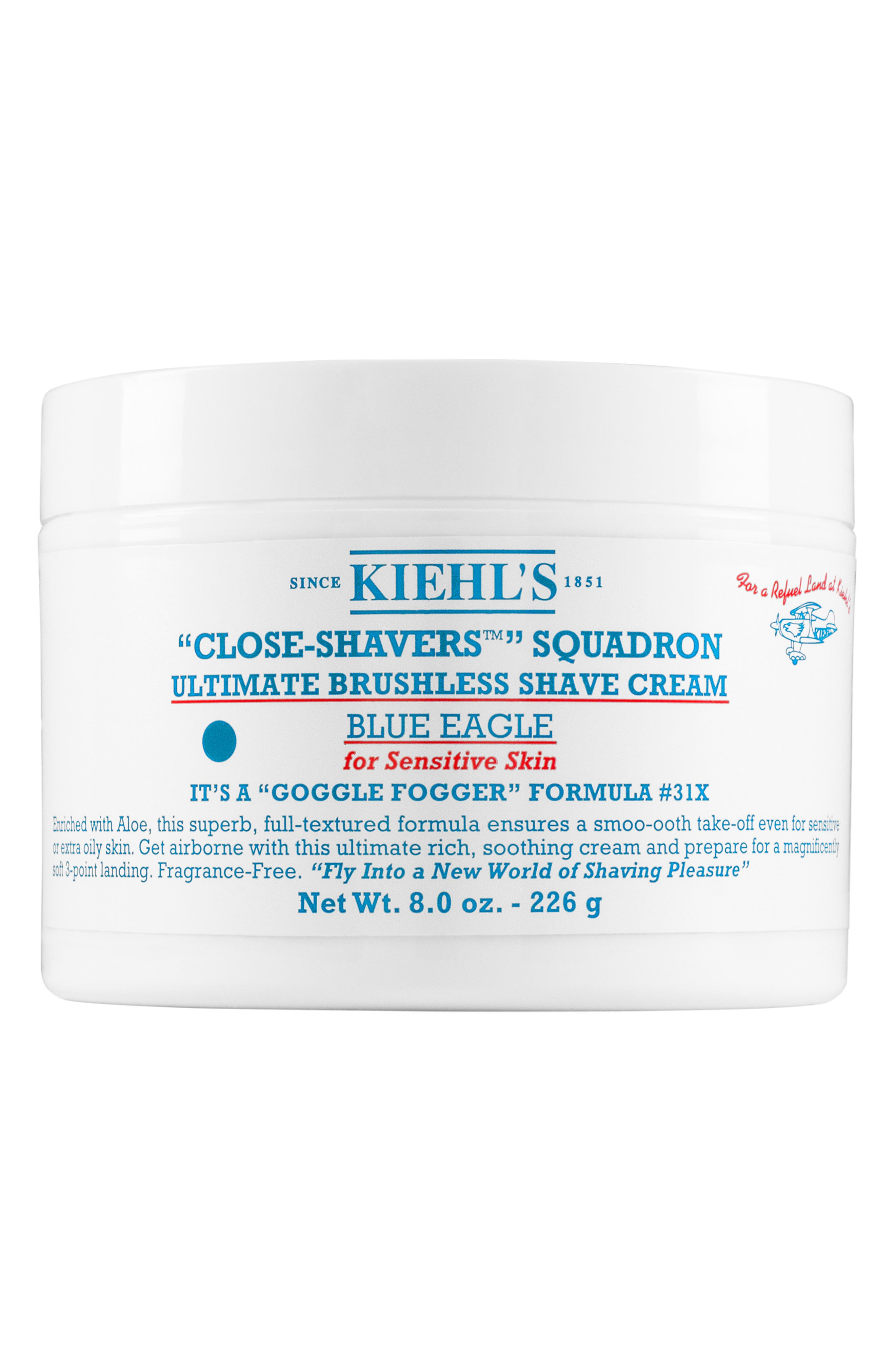 Kiehl's Since 1851 Blue Eagle Ultimate Brushless Shave Cream