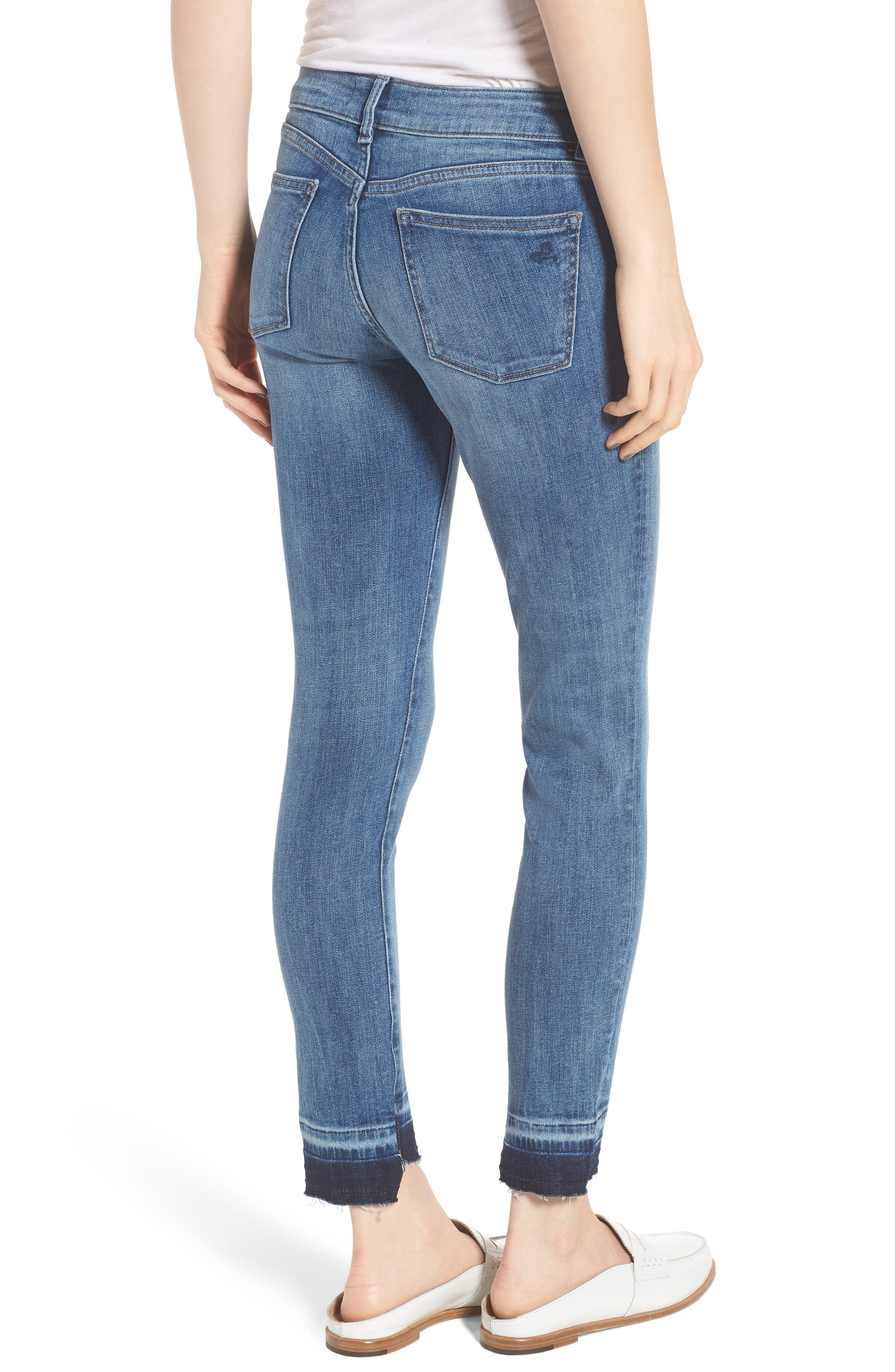 Margaux Instasculpt Ankle Skinny Jeans,                             Alternate thumbnail 2, color,                             Costa Mesa