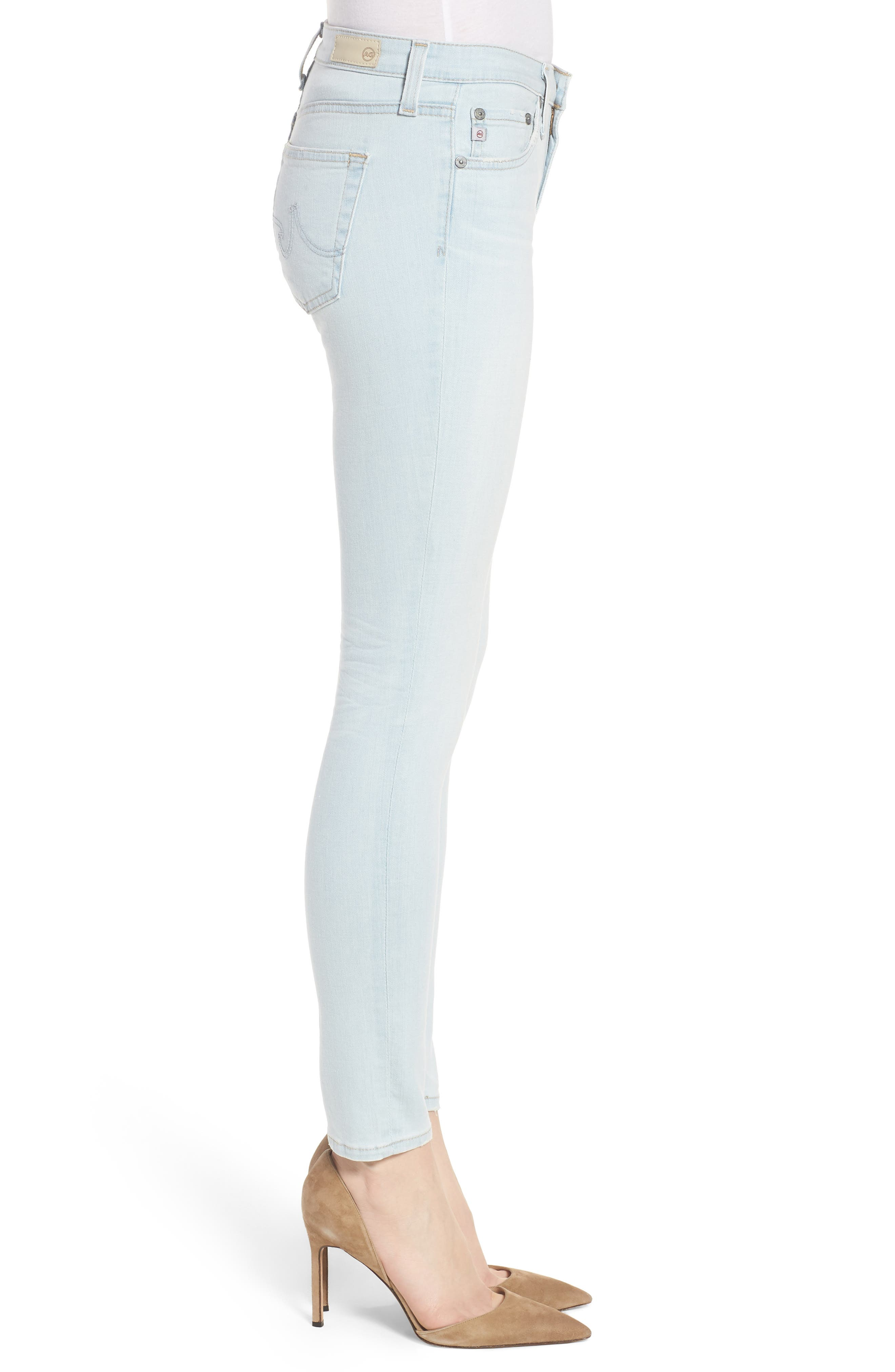 The Legging Ankle Skinny Jeans,                             Alternate thumbnail 3, color,                             26 Years-Sandcastles