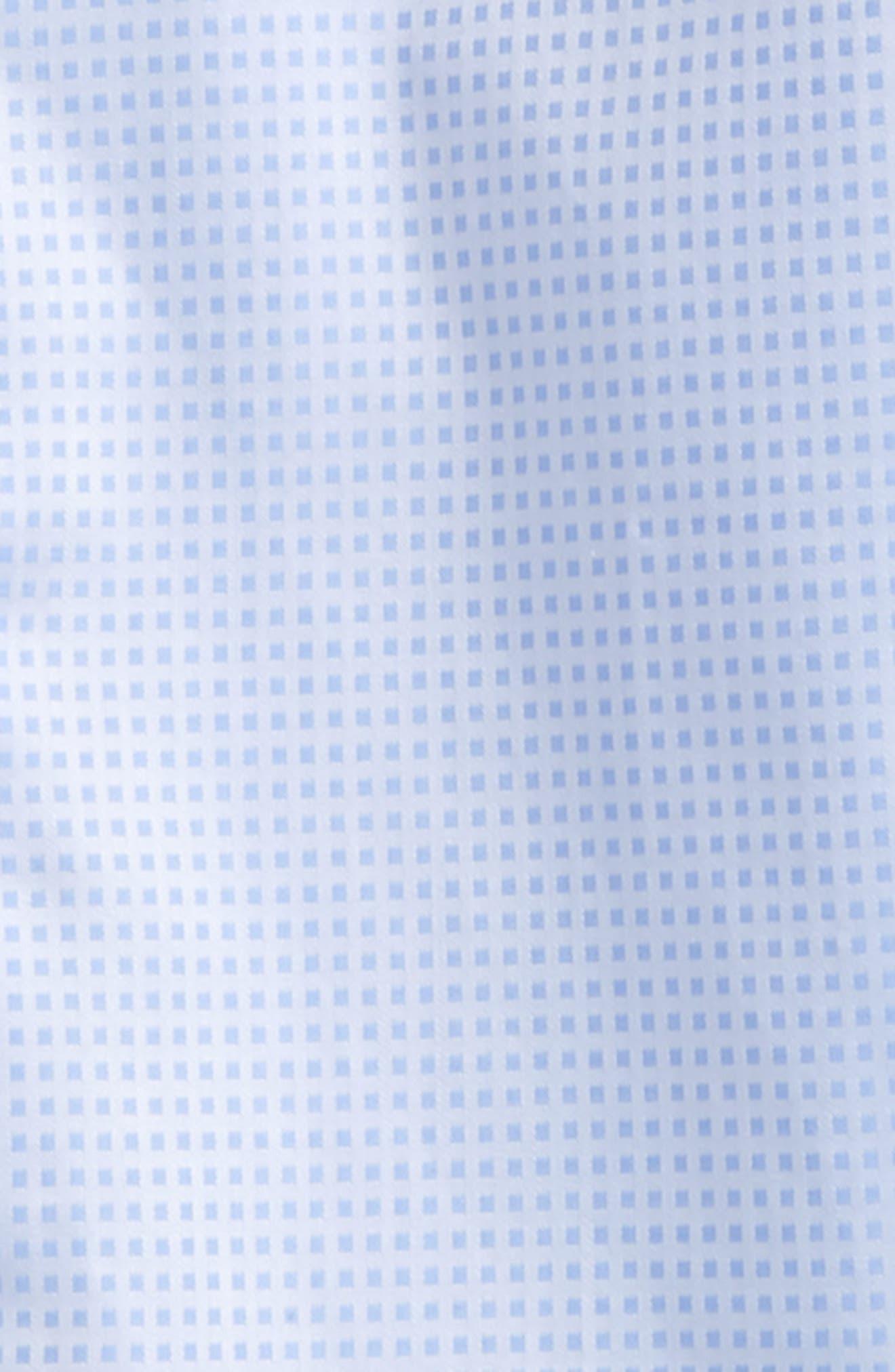 Microcheck Dress Shirt,                             Alternate thumbnail 2, color,                             Lt Blue Check