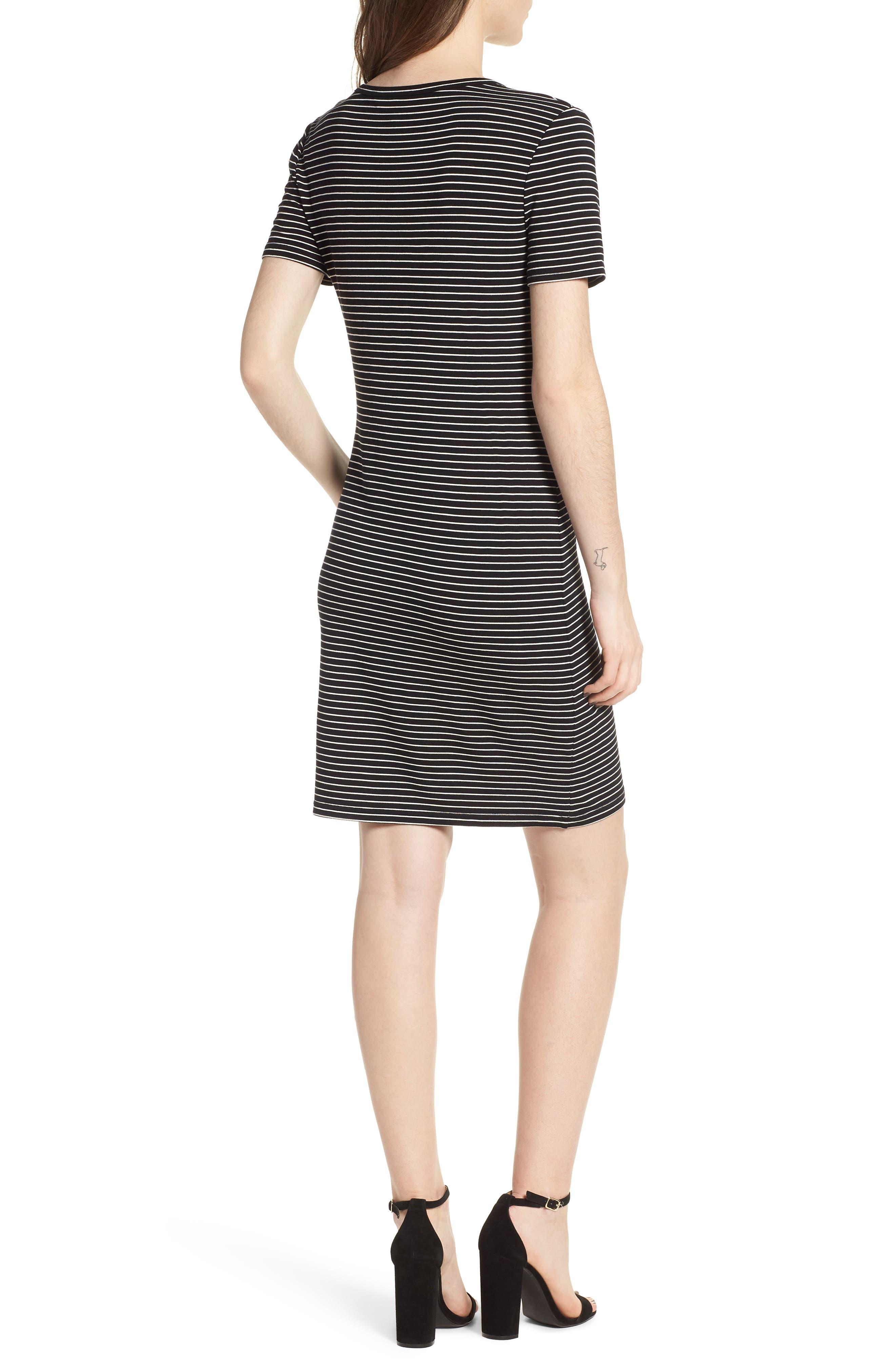 Destiny Sheath Dress,                             Alternate thumbnail 2, color,                             Black