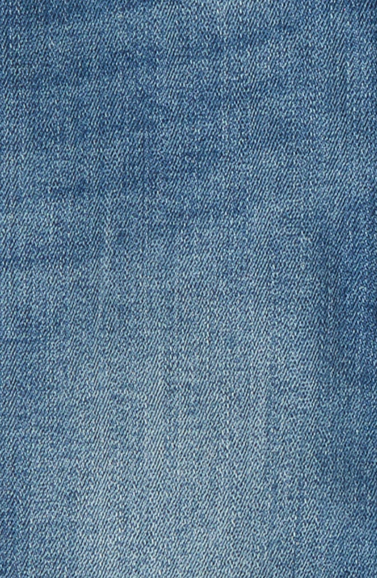 Crop Jeans,                             Alternate thumbnail 3, color,                             Lagoon Wash