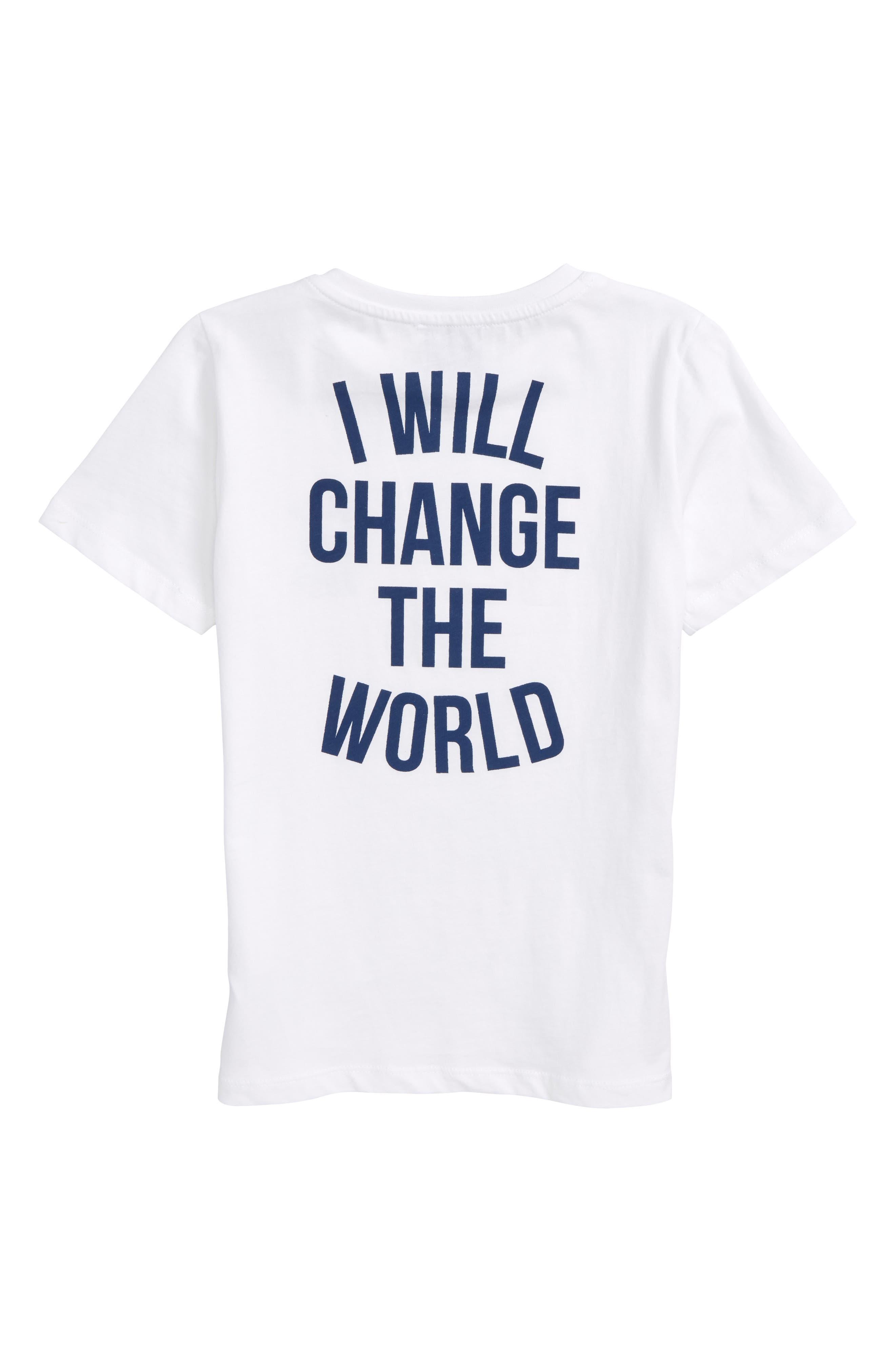 Revolution Logo Graphic T-Shirt,                             Alternate thumbnail 2, color,                             White