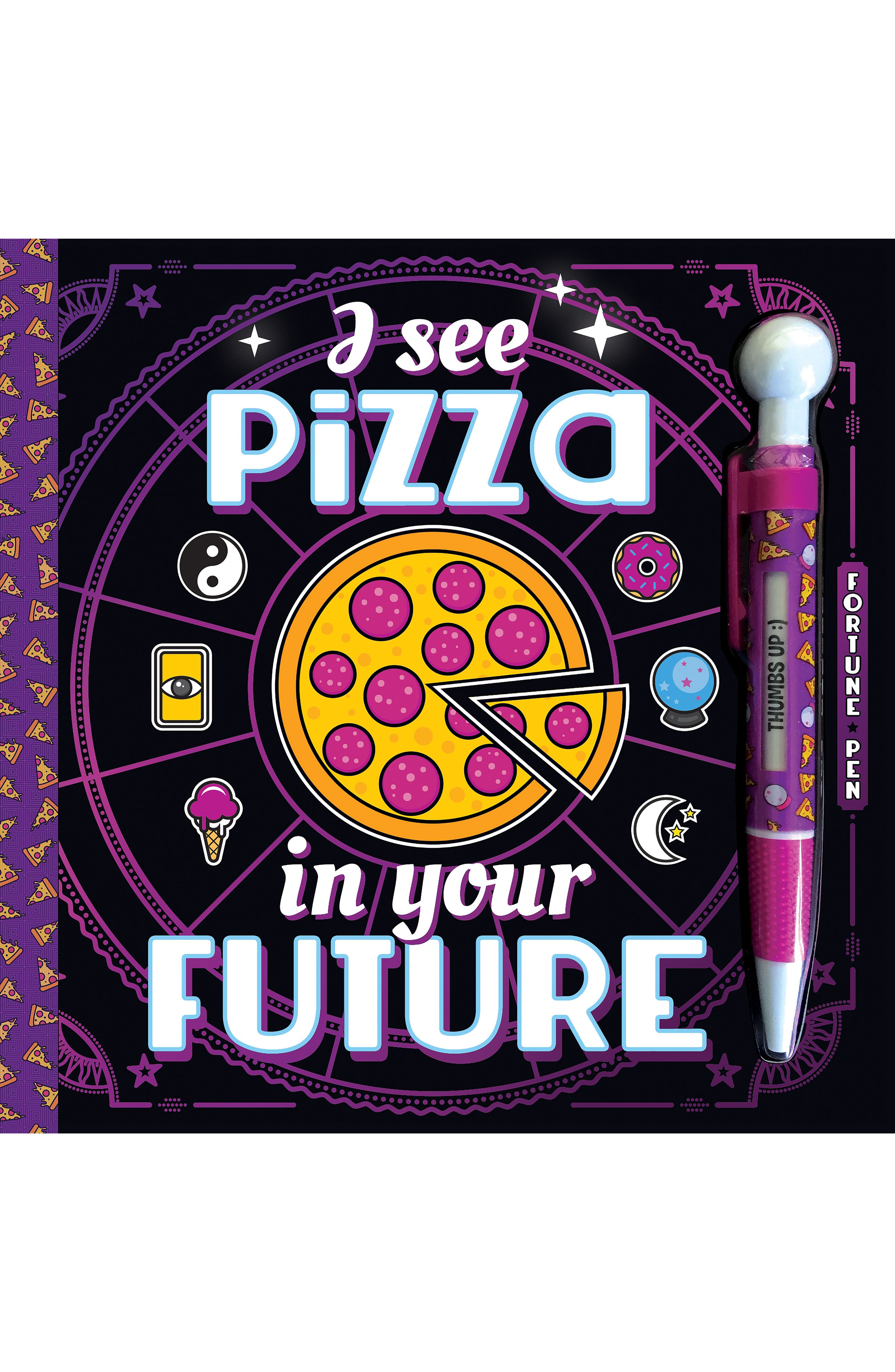'I See Pizza in Your Future' Activity Book & Pen Set