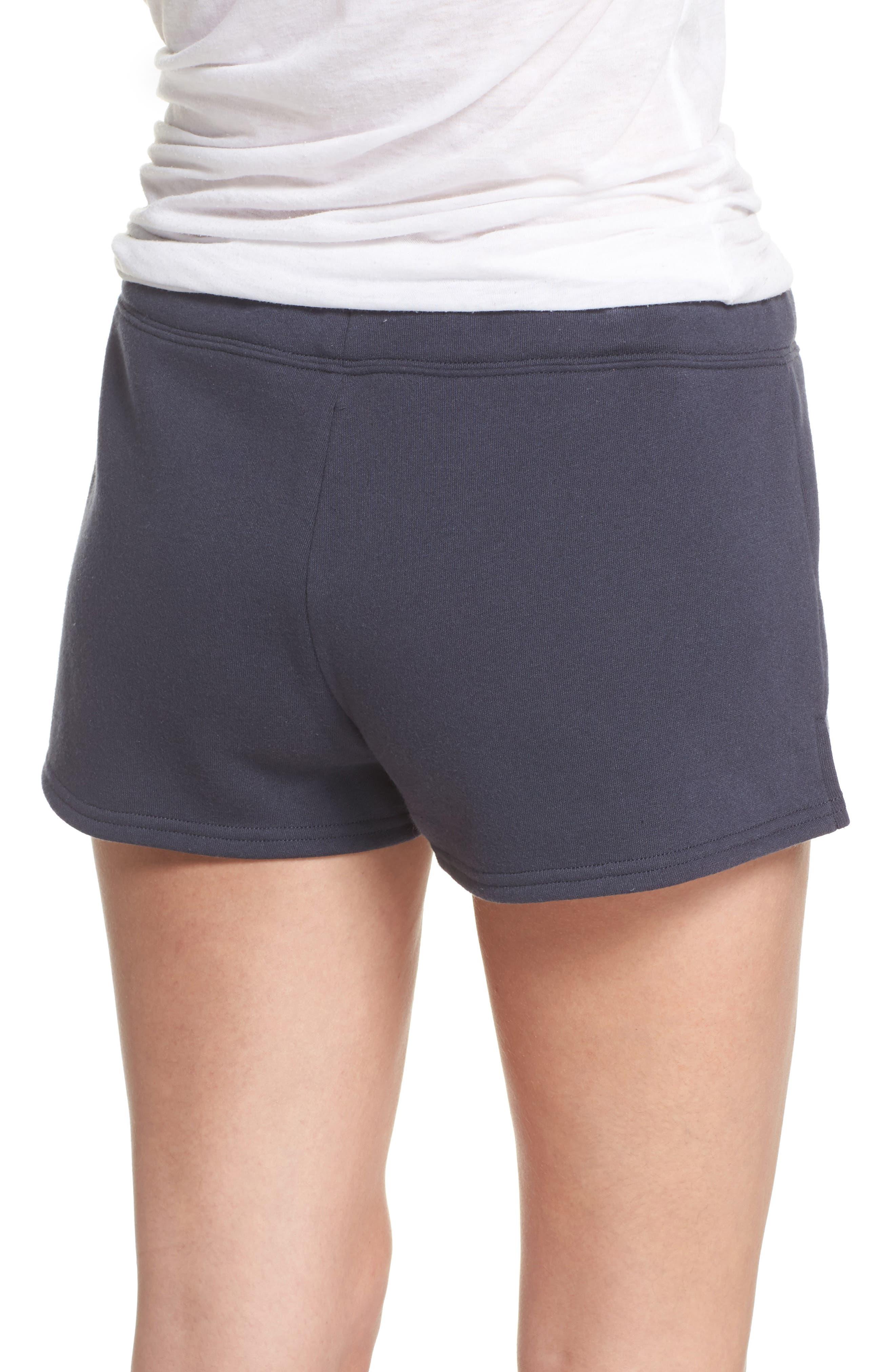 Take It Easy Lounge Shorts,                             Alternate thumbnail 2, color,                             Navy Blue