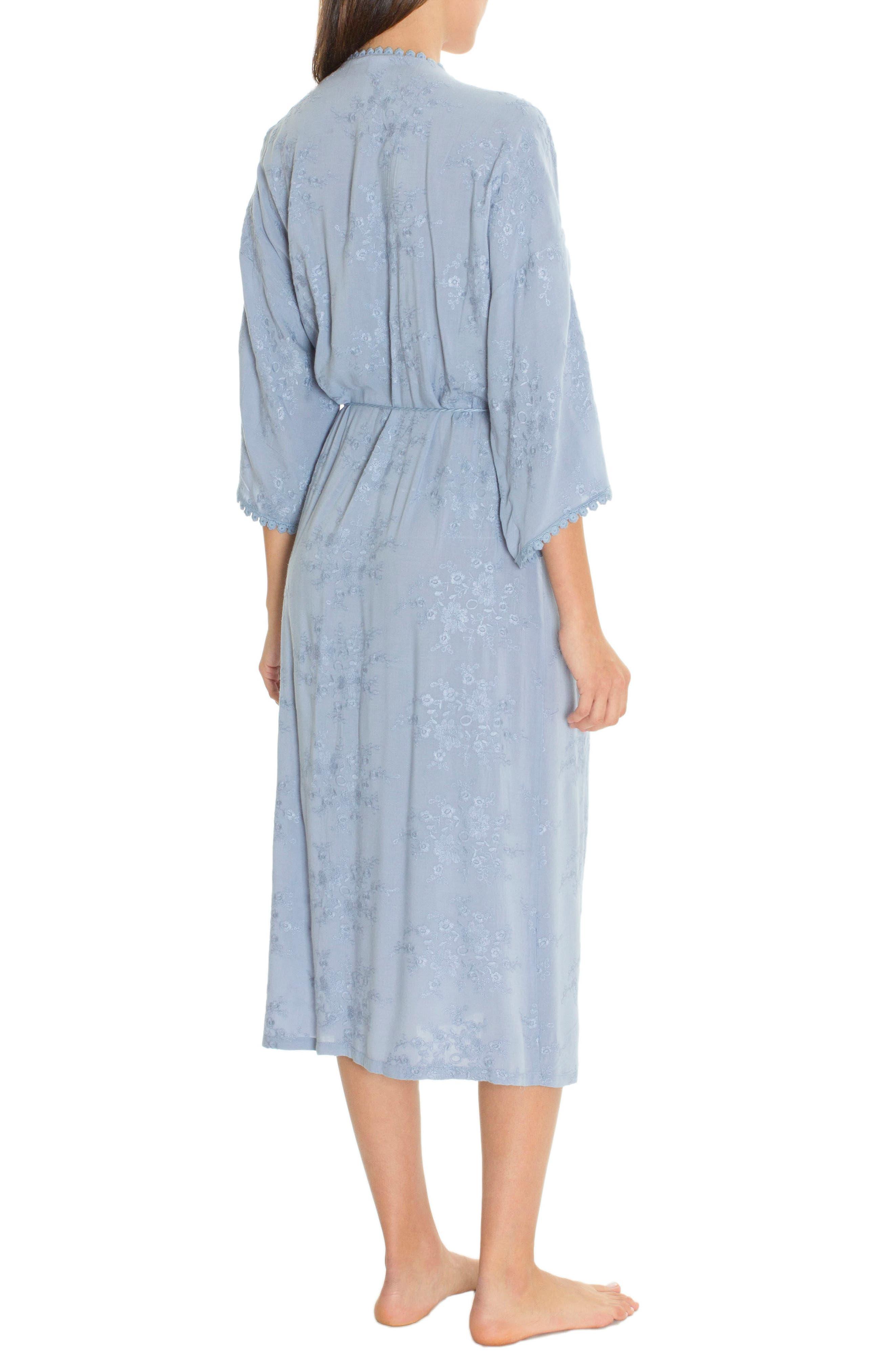 Robe,                             Alternate thumbnail 2, color,                             Chambray Blue