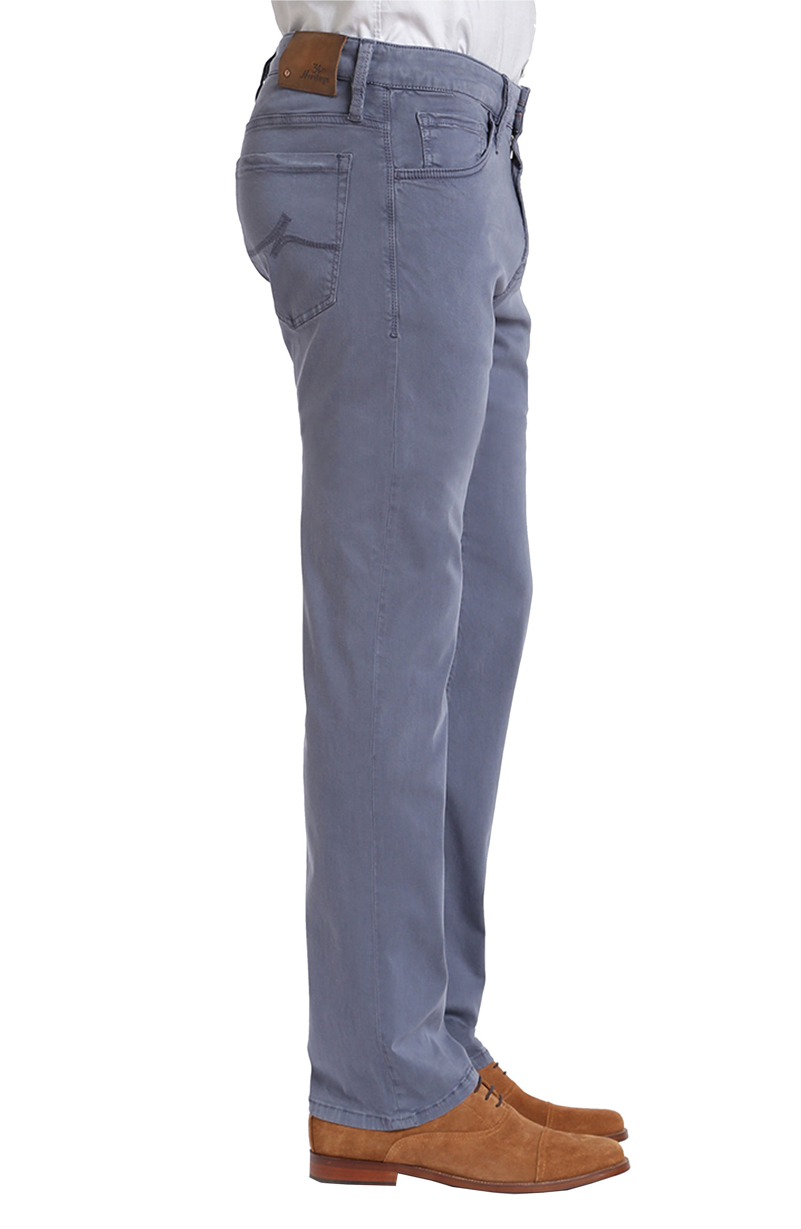 Straight Leg Twill Pants,                             Alternate thumbnail 3, color,                             Horizon Twill