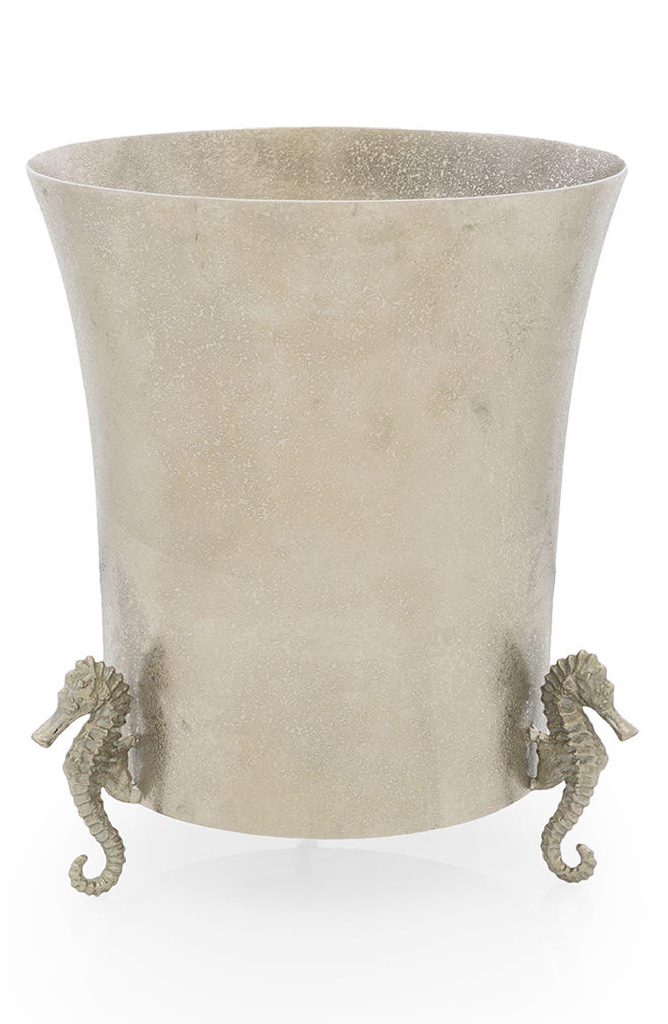 Ocean Reef Ice Bucket,                         Main,                         color, Silver