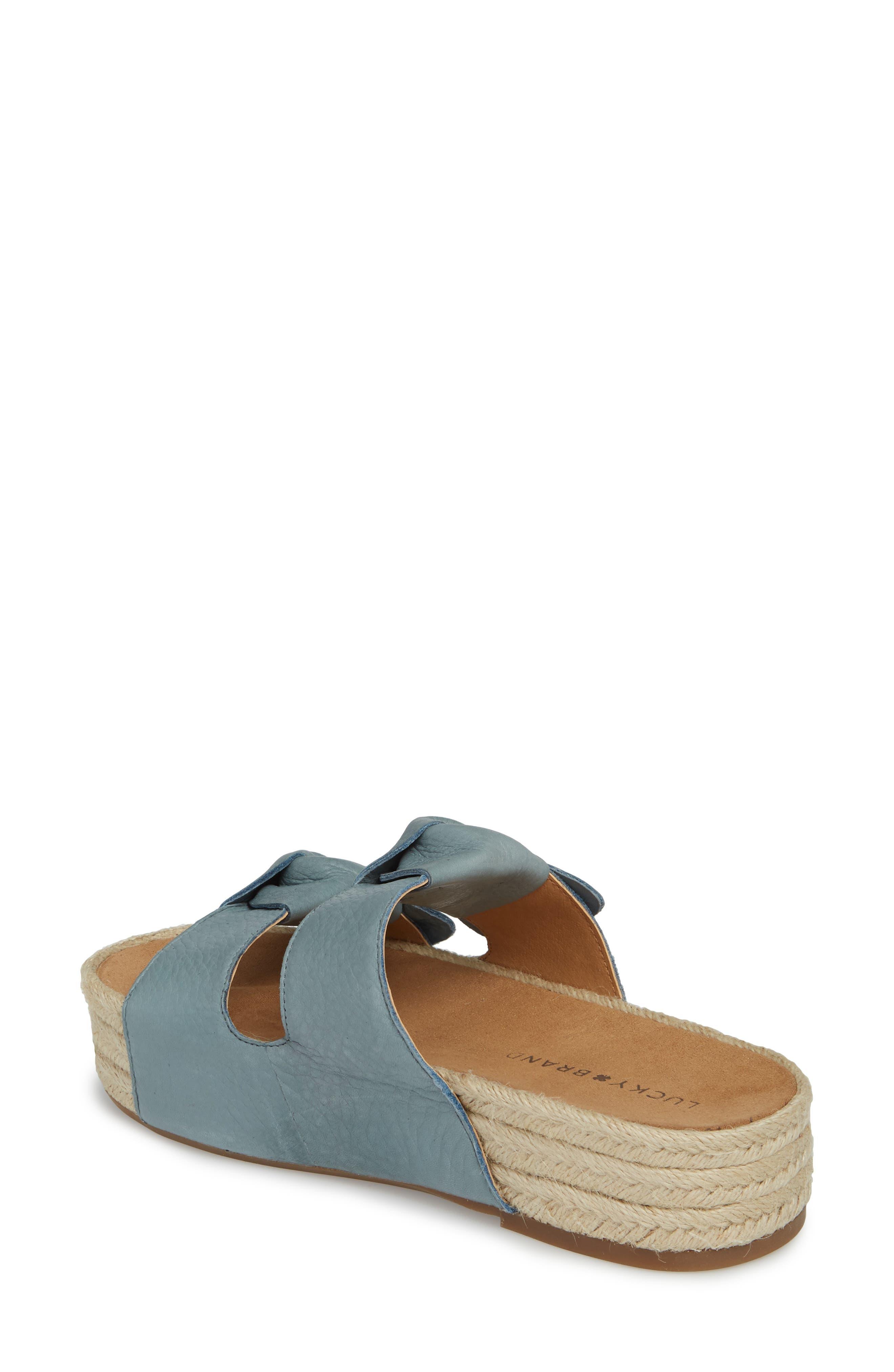 Izbremma Platform Espadrille Sandal,                             Alternate thumbnail 2, color,                             Infinity Leather