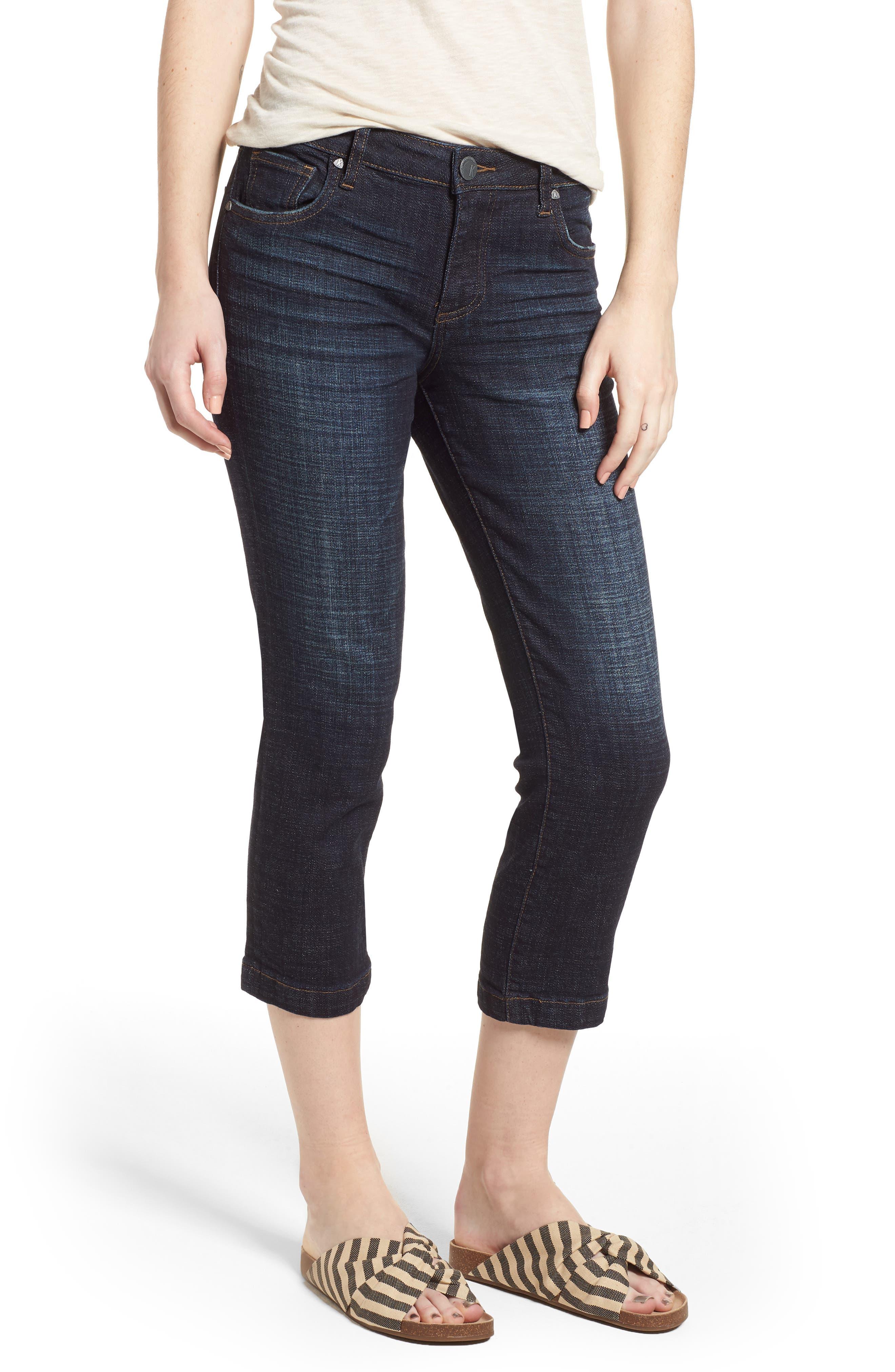 KUT From The Kloth Lauren Crop Jeans (Acknowledging) (Regular & Petite)