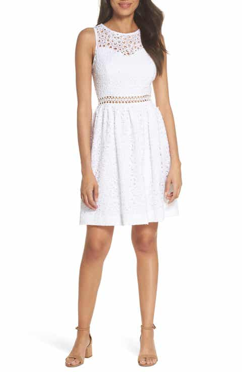 Lilly Pulitzer? Alivia Eyelet Fit & Flare Dress