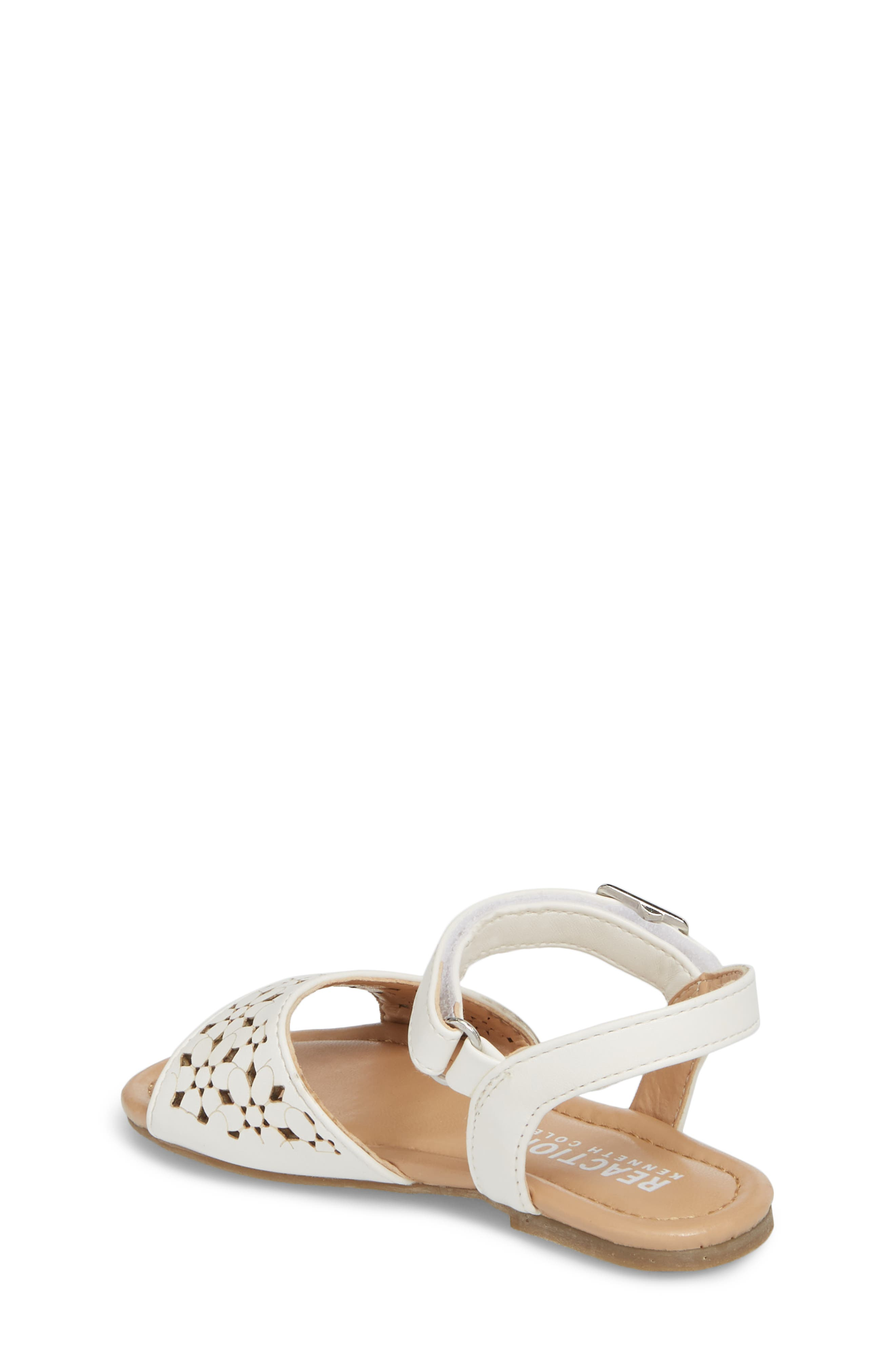 Alternate Image 2  - Kenneth Cole New York Kiera Perforated Sandal (Walker & Toddler)