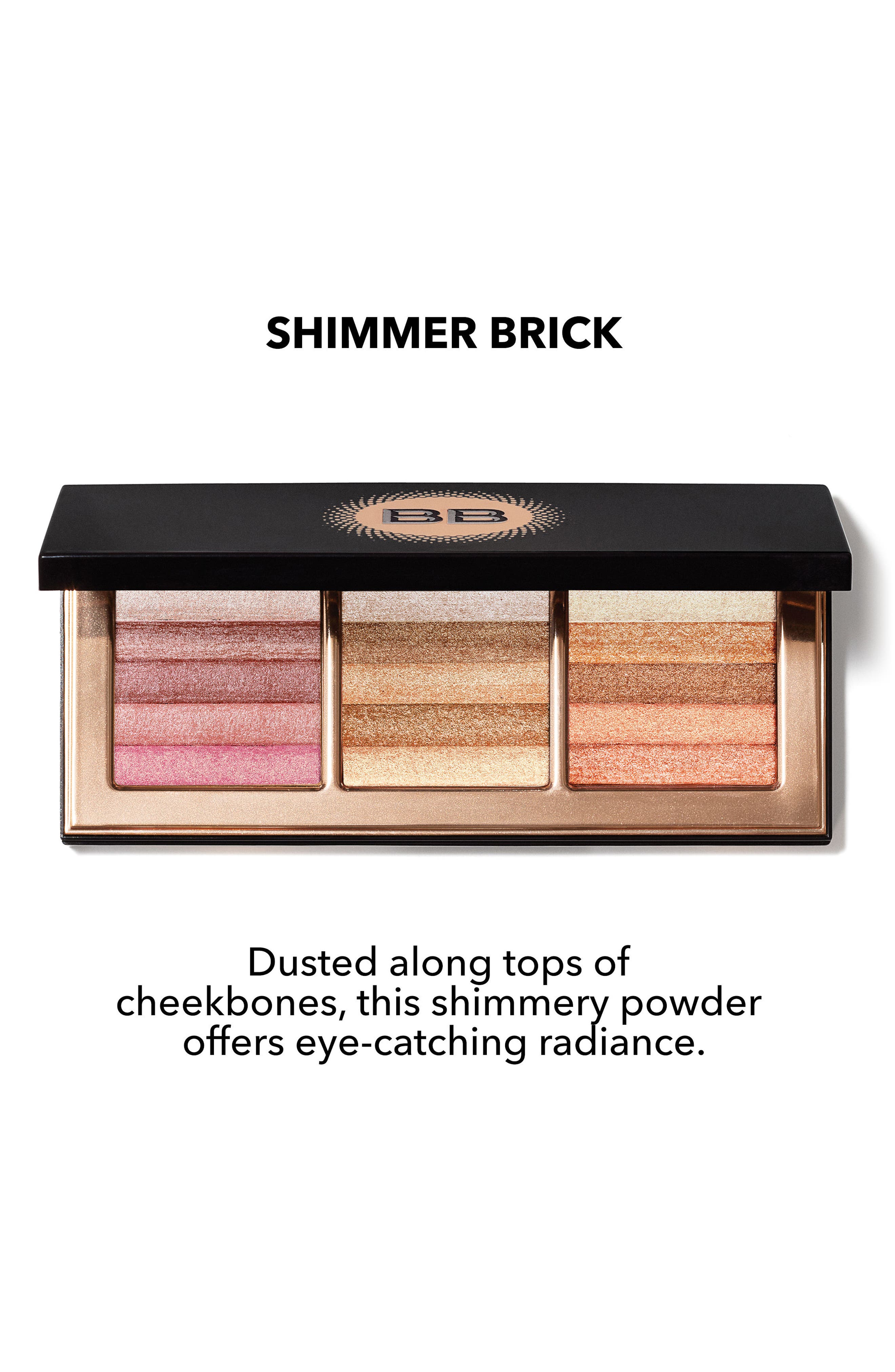 Alternate Image 2  - Bobbi Brown Shimmer Brick Palette ($127 Value)