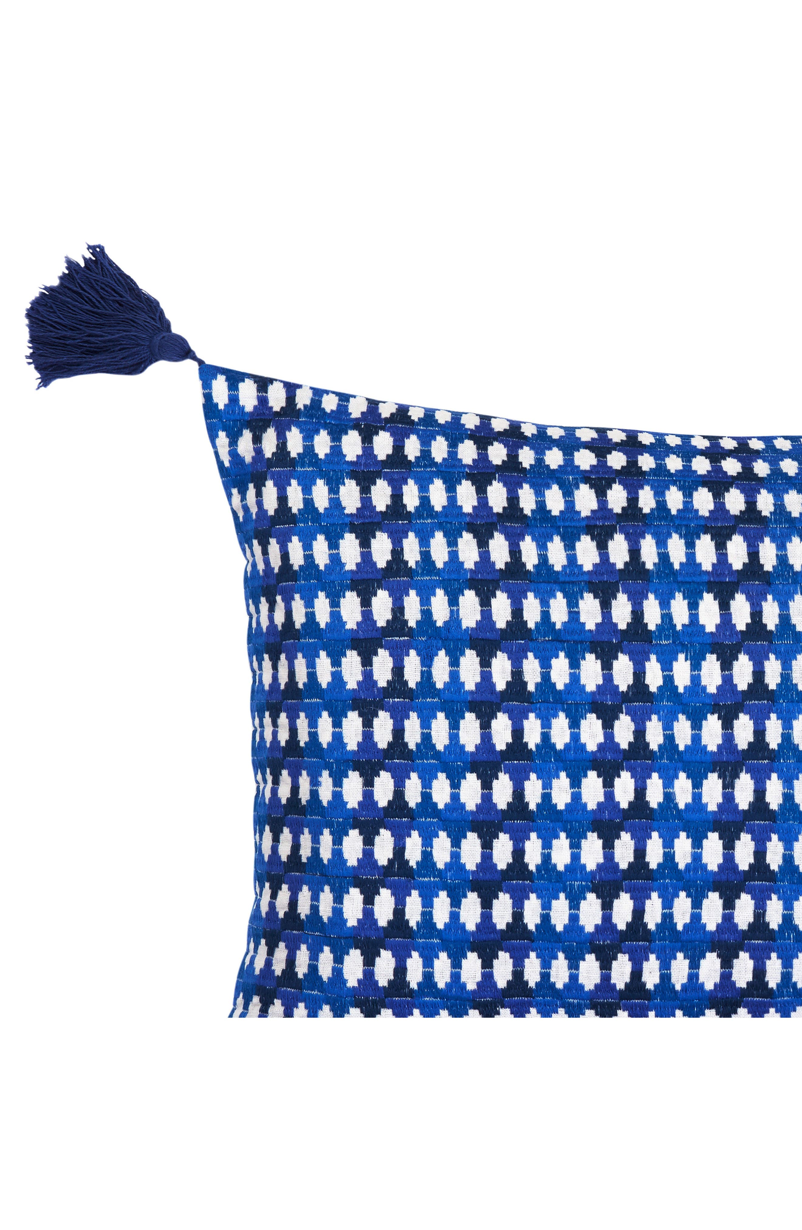 Samba de Roda Accent Pillow,                             Alternate thumbnail 3, color,                             Dark Blue