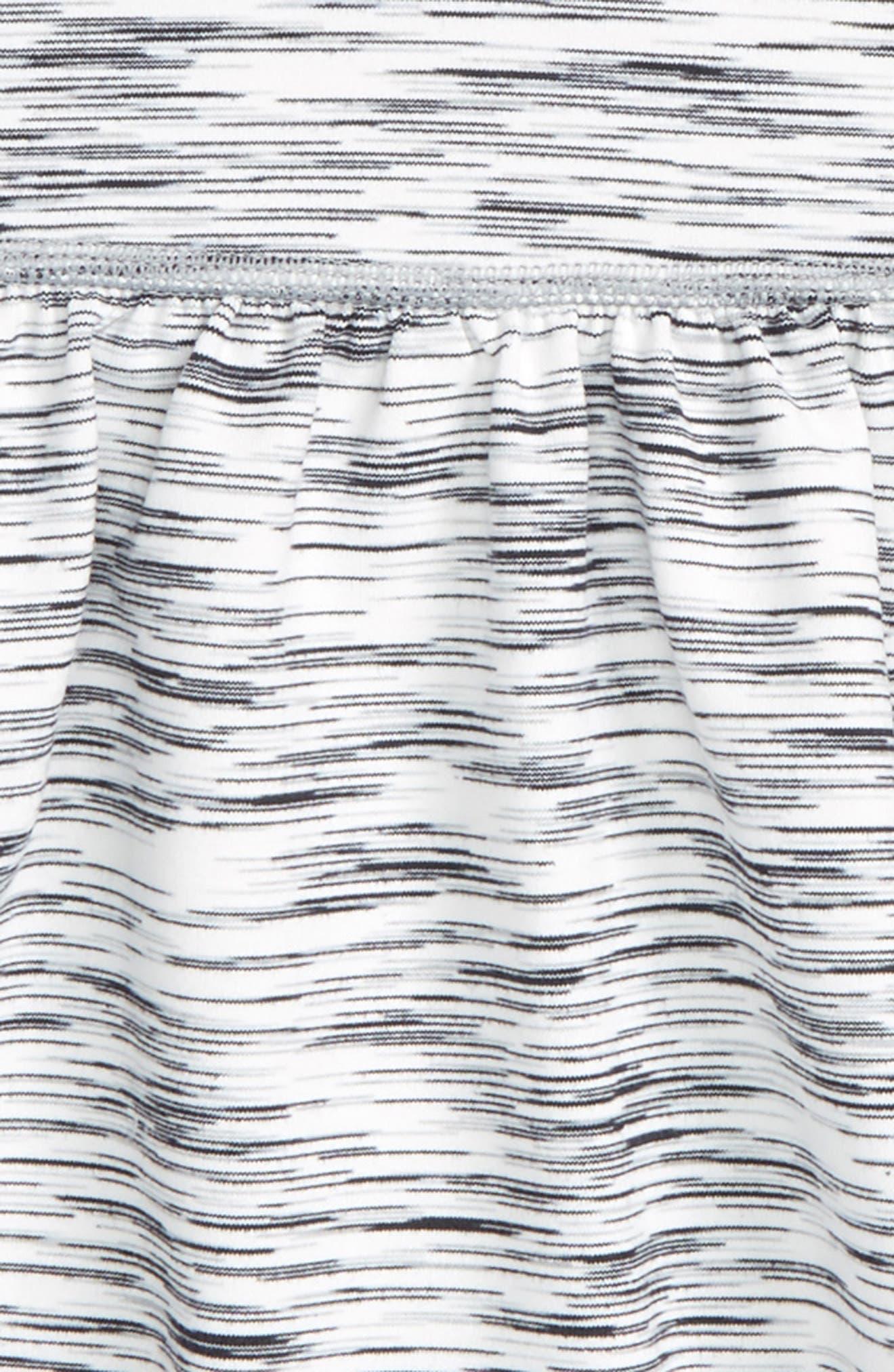 'Cosmic Space Dye Twirl' Skort,                             Alternate thumbnail 2, color,                             White Eclipse Spacedye
