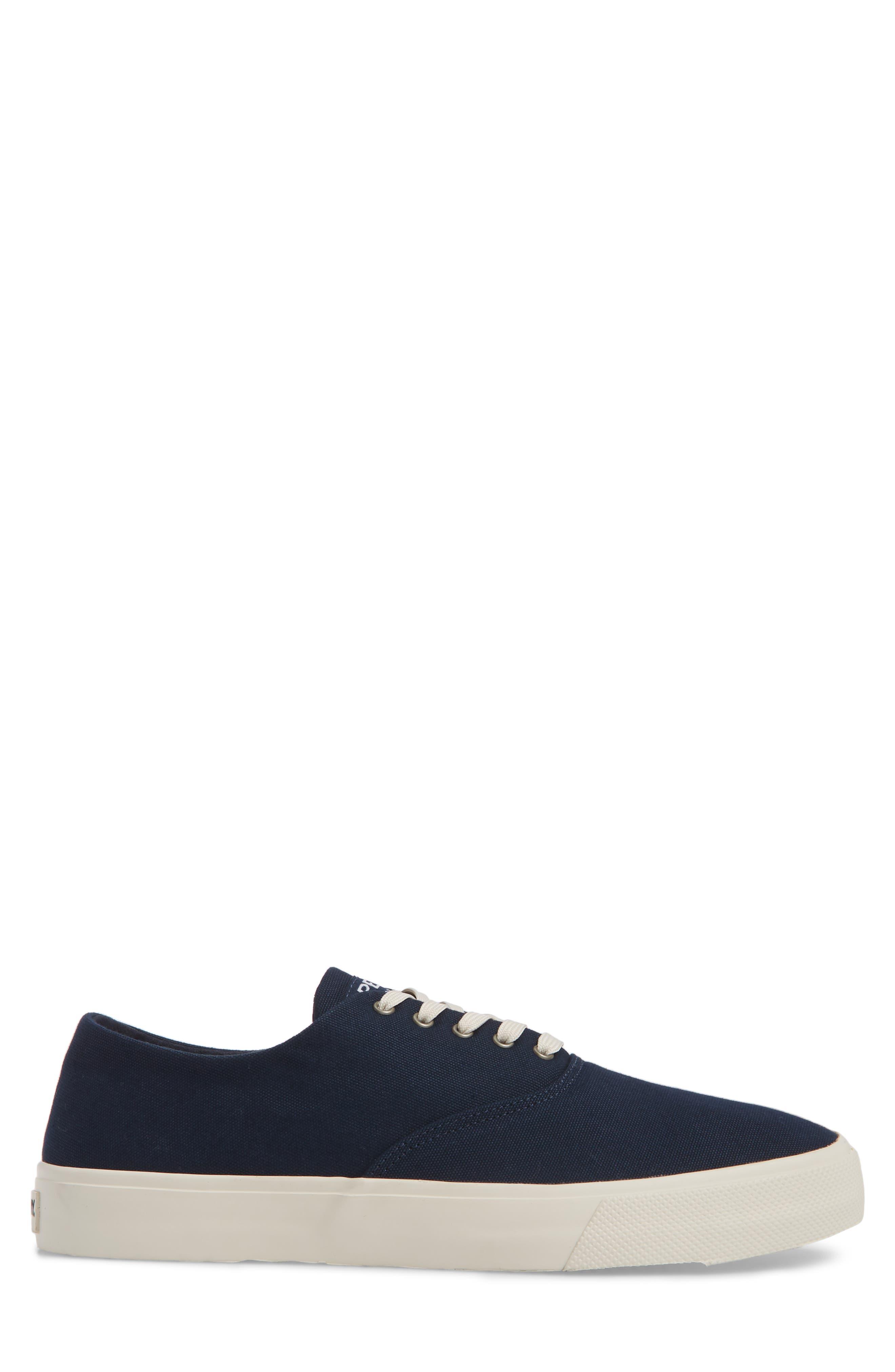 Captain's CVO Sneaker,                             Alternate thumbnail 3, color,                             Navy Fabric