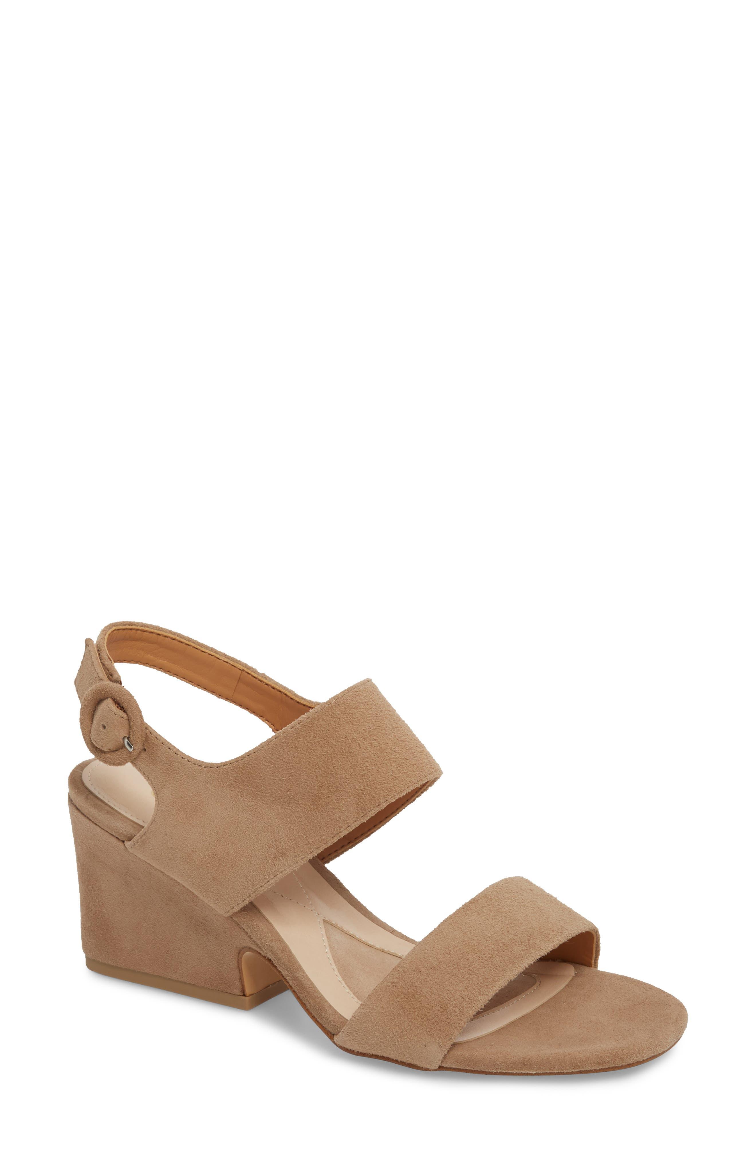 Isola Landra Block Heel Sandal (Women)