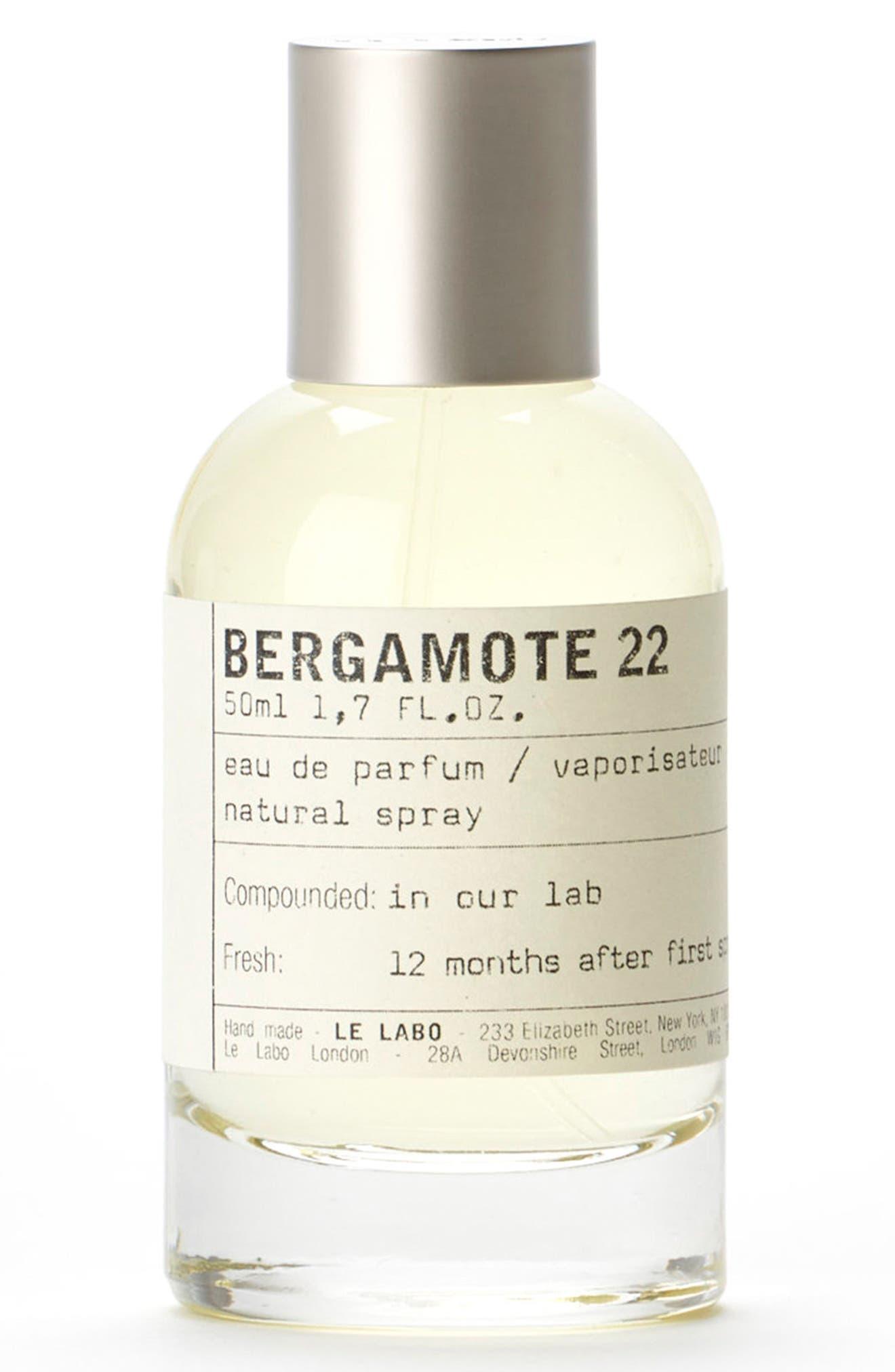 'Bergamote 22' Eau de Parfum,                             Alternate thumbnail 3, color,                             No Color