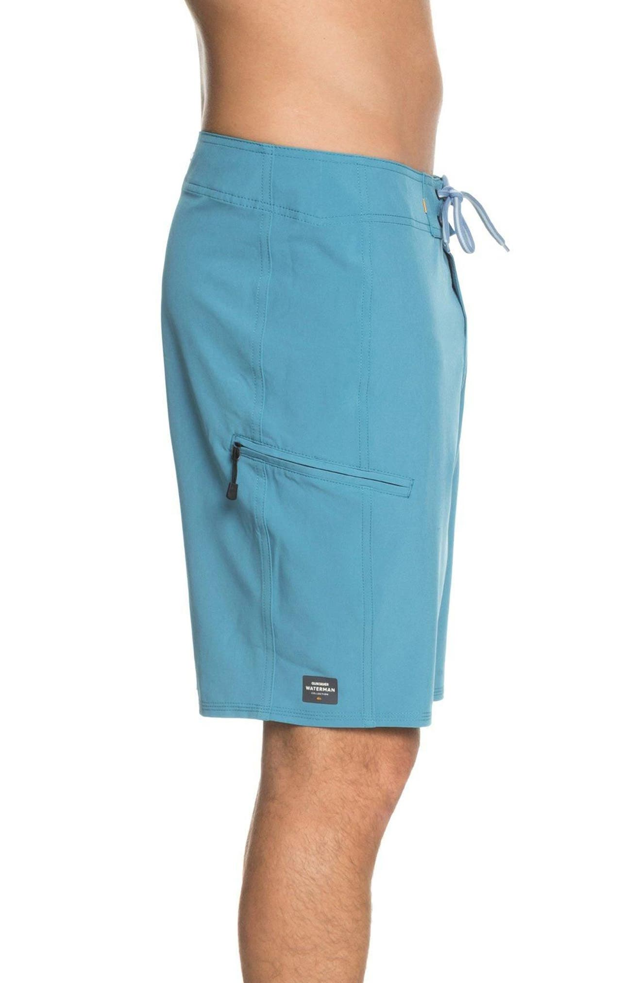 Makana Boardshorts,                             Alternate thumbnail 3, color,                             Blue Moon