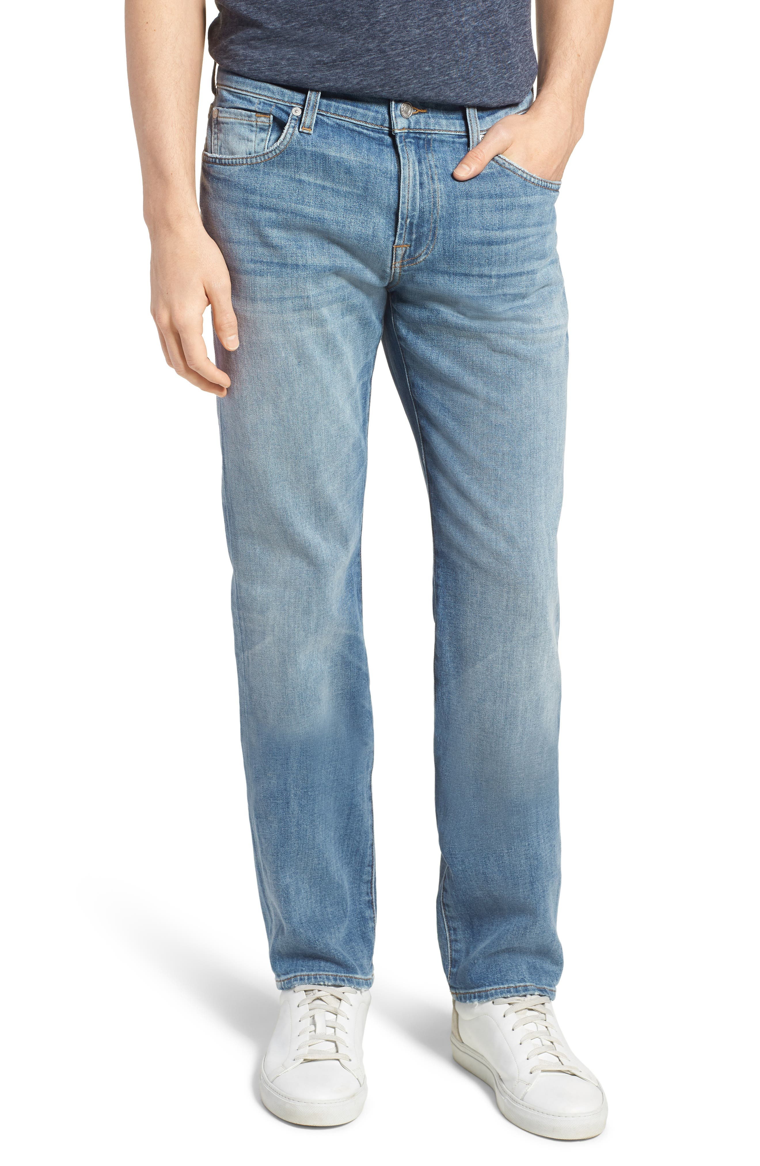 7 For All Mankind® Slimmy Slim Fit Jeans (Cowboy)