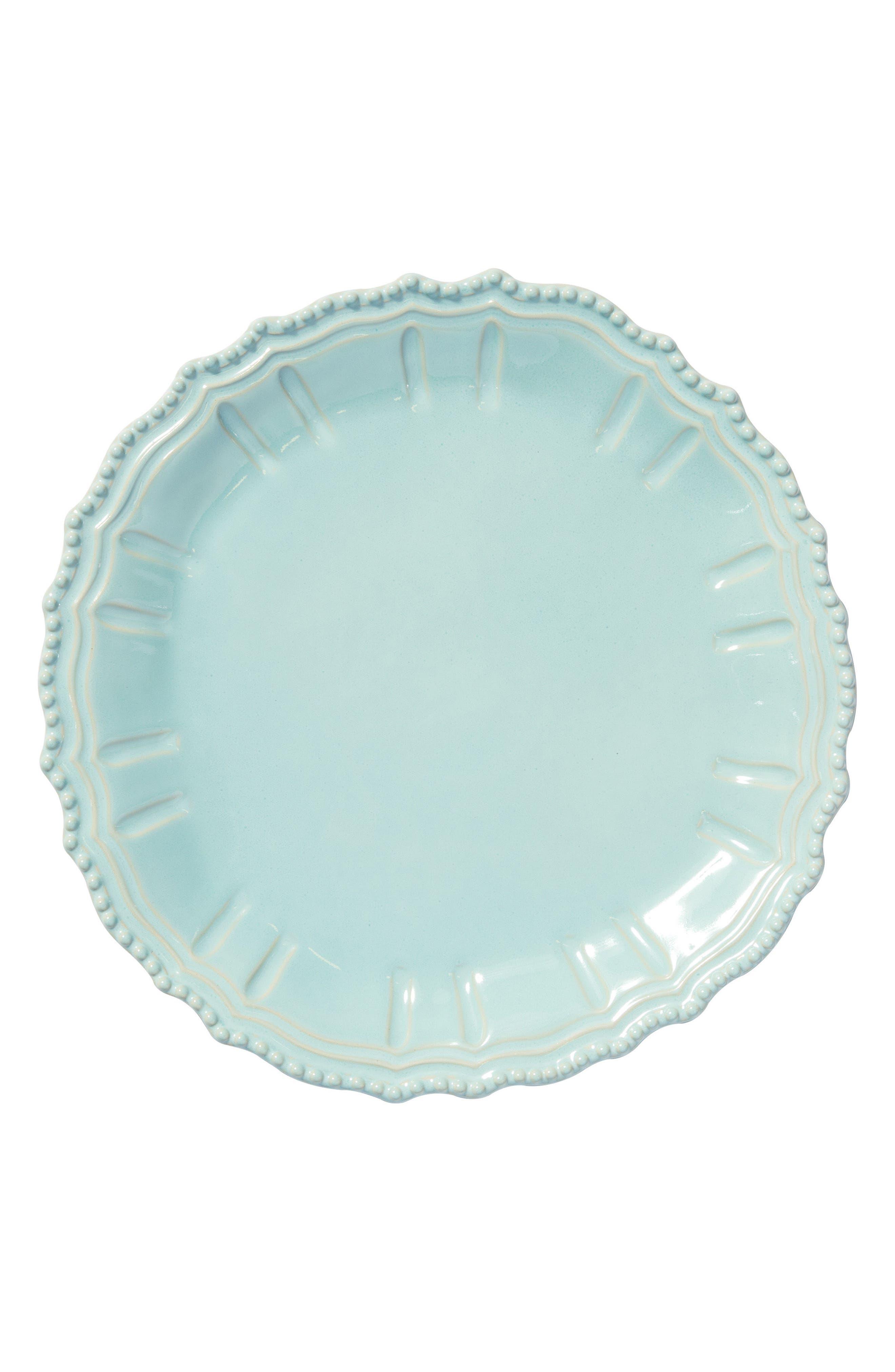 Incanto Stone Baroque Platter,                             Main thumbnail 1, color,                             Aqua