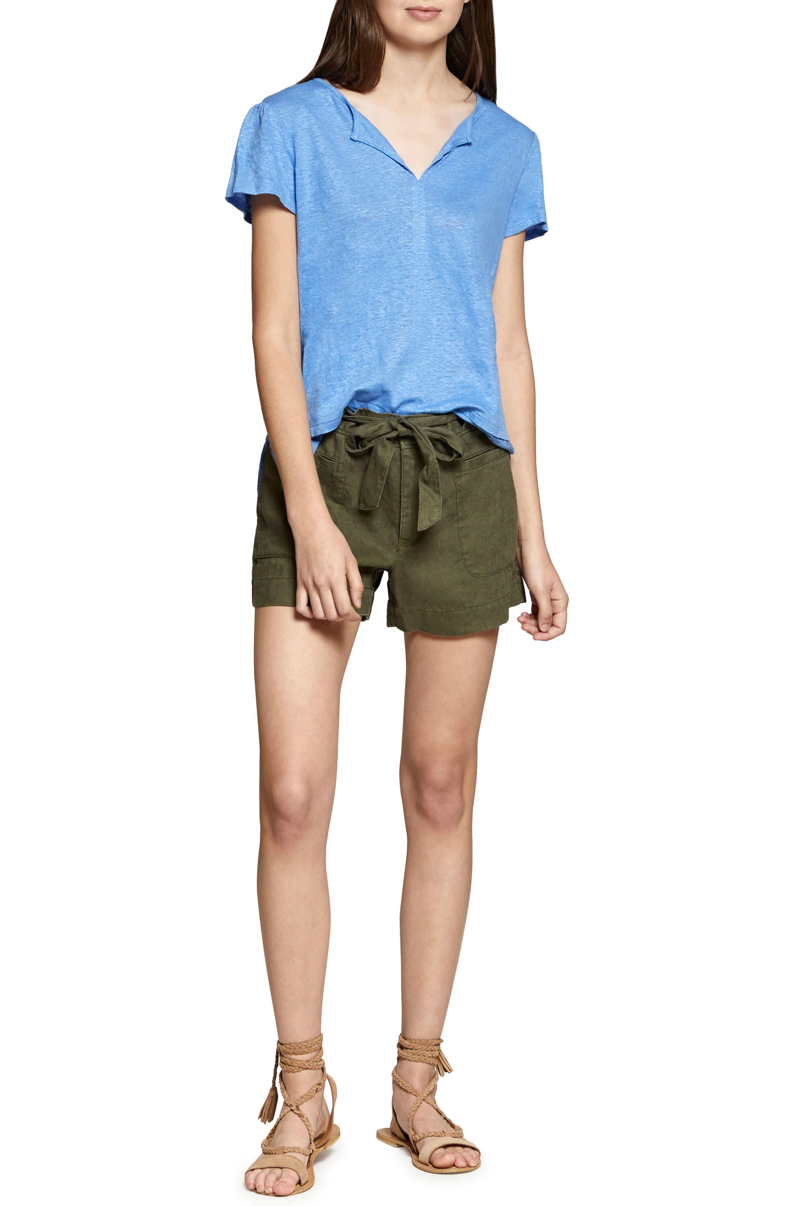 Alternate Image 4  - Sanctuary Sasha Linen Utility Shorts