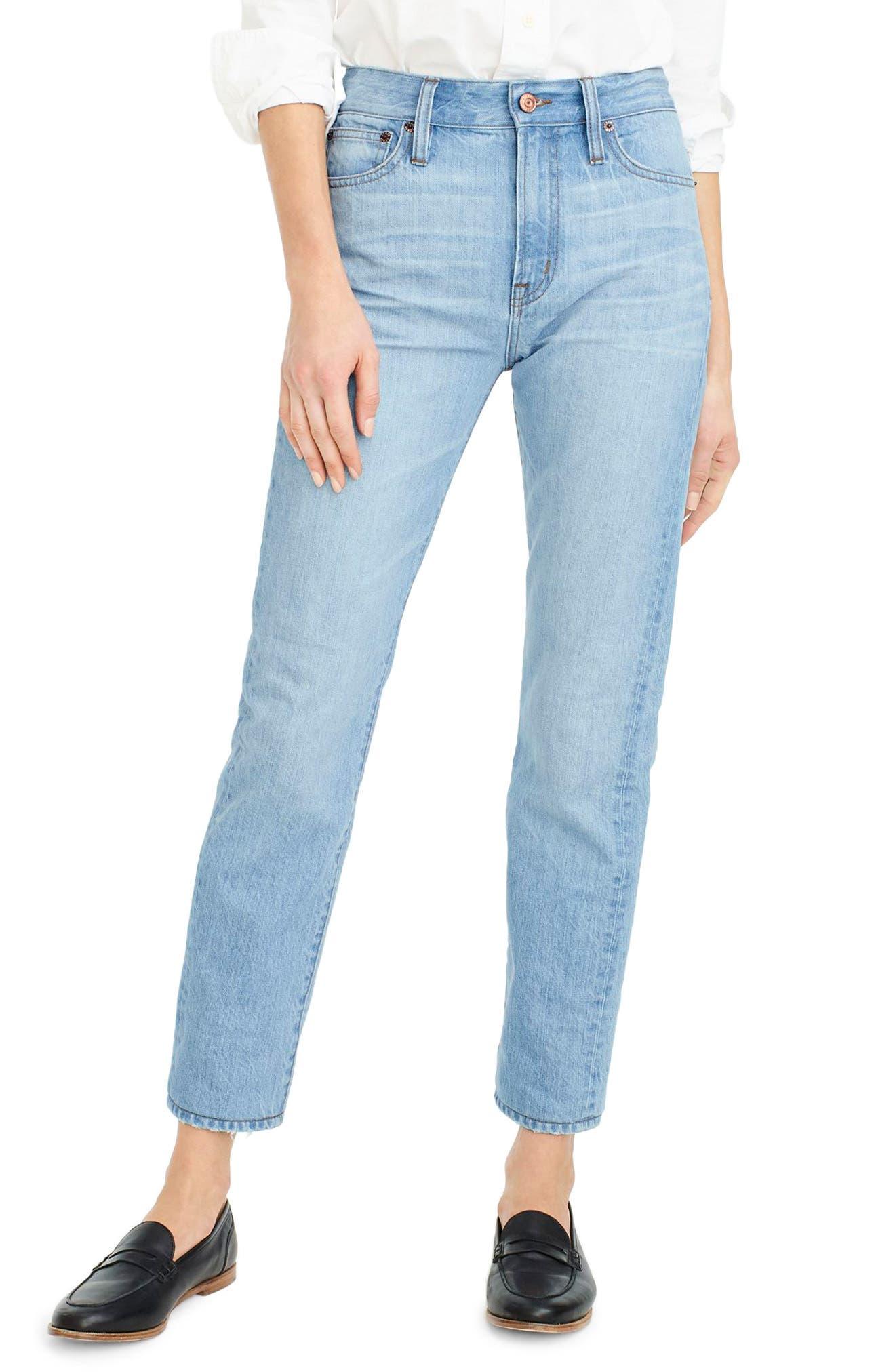 Retro Big Idea Jeans,                         Main,                         color, Fern Wash