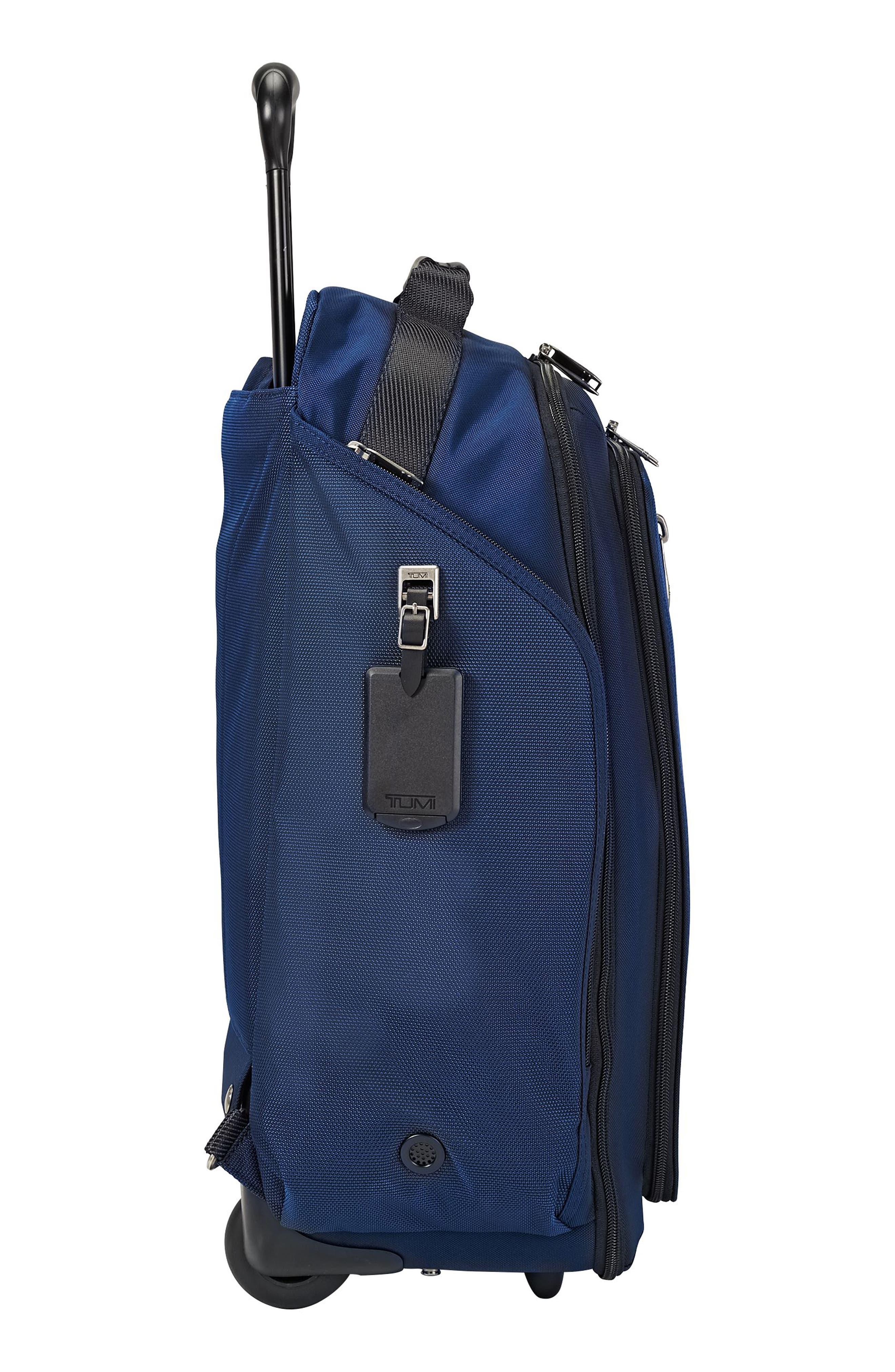 Merge - Rolling Backpack,                             Alternate thumbnail 6, color,                             Ocean Blue