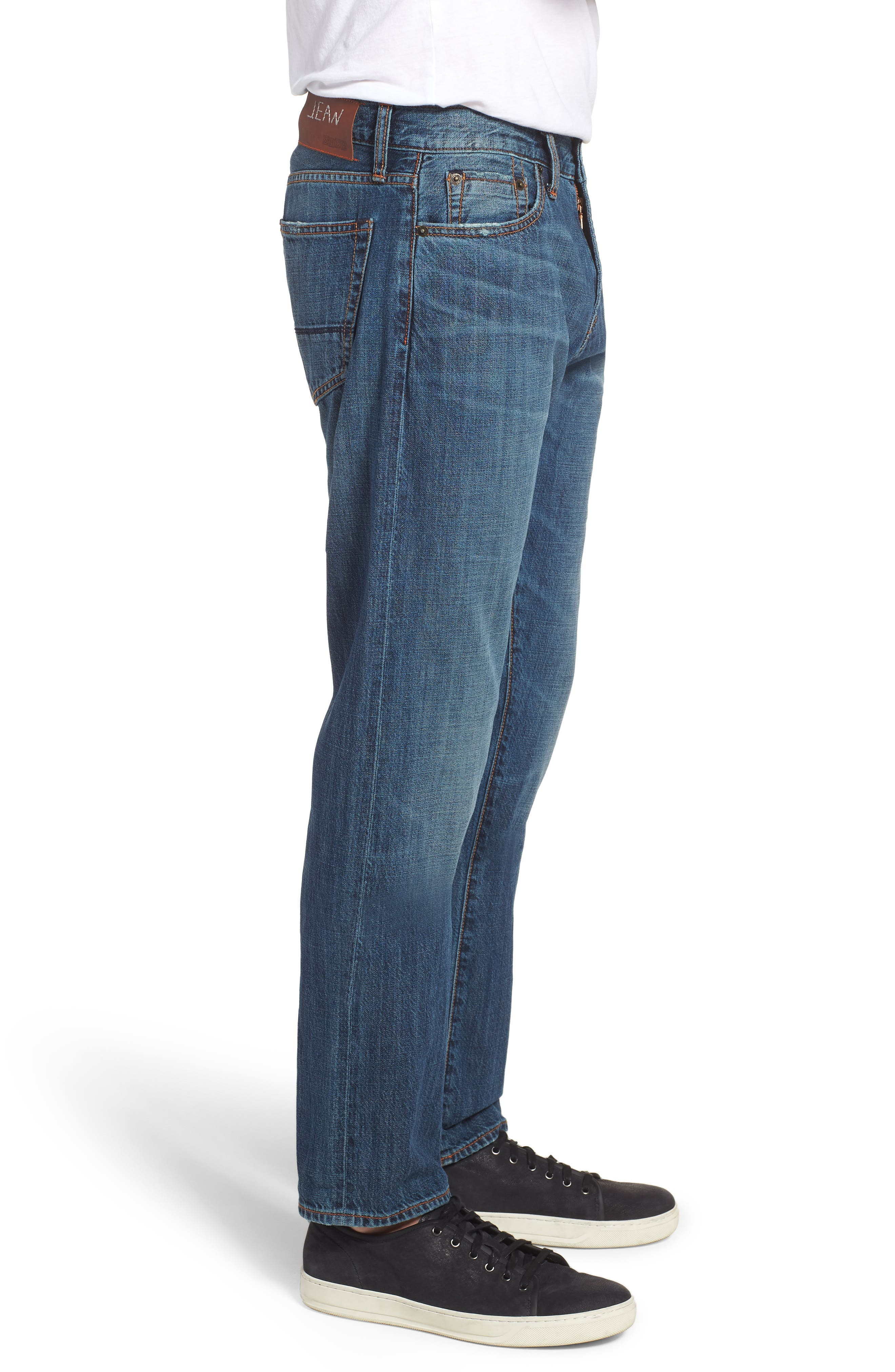 Jim Slim Fit Jeans,                             Alternate thumbnail 3, color,                             Greenwood