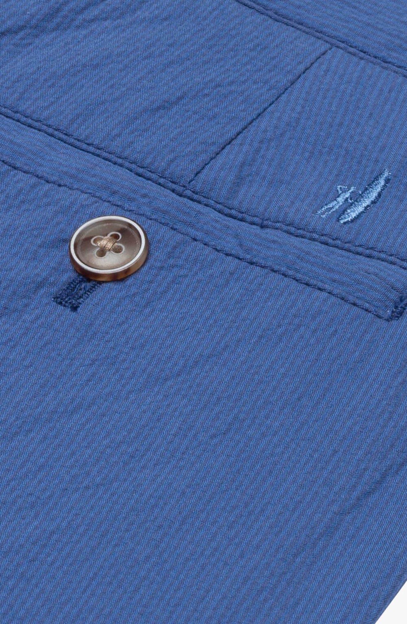 Bryson Seersucker Shorts,                             Alternate thumbnail 2, color,                             Ripple