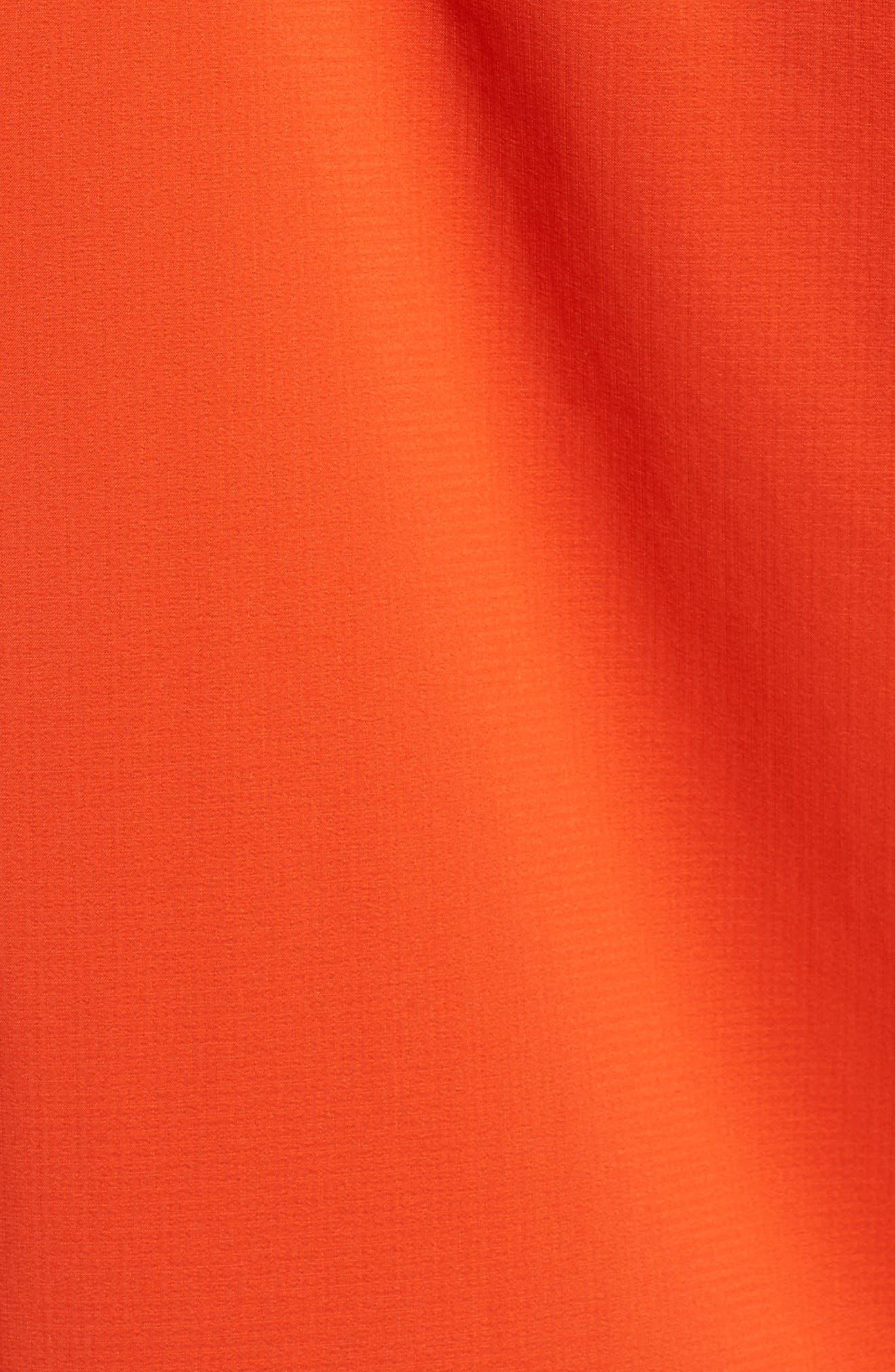 Stretch Rainshadow Jacket,                             Alternate thumbnail 5, color,                             Paintbrush Red