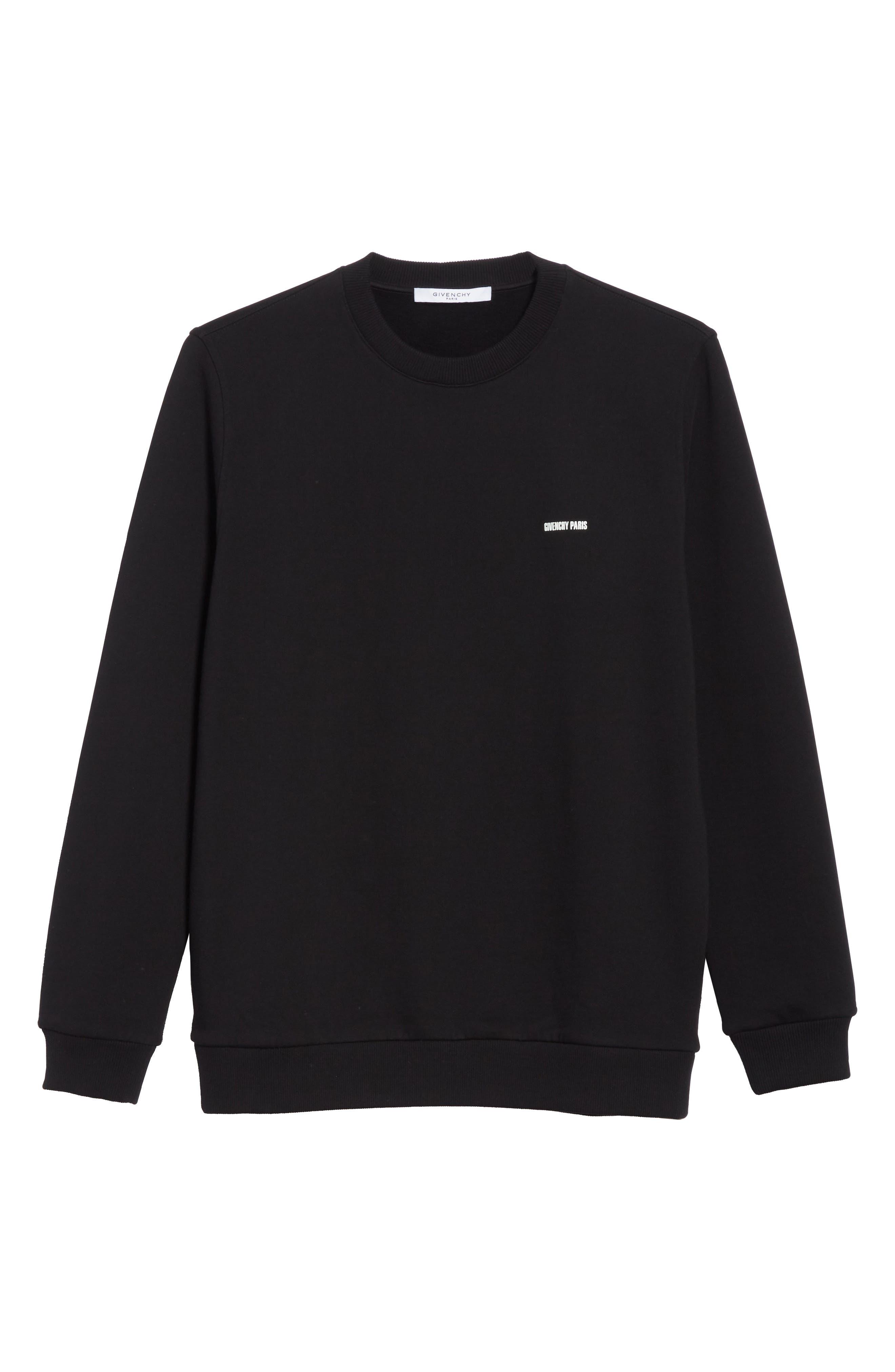 Original Crewneck Sweatshirt,                         Main,                         color, Black