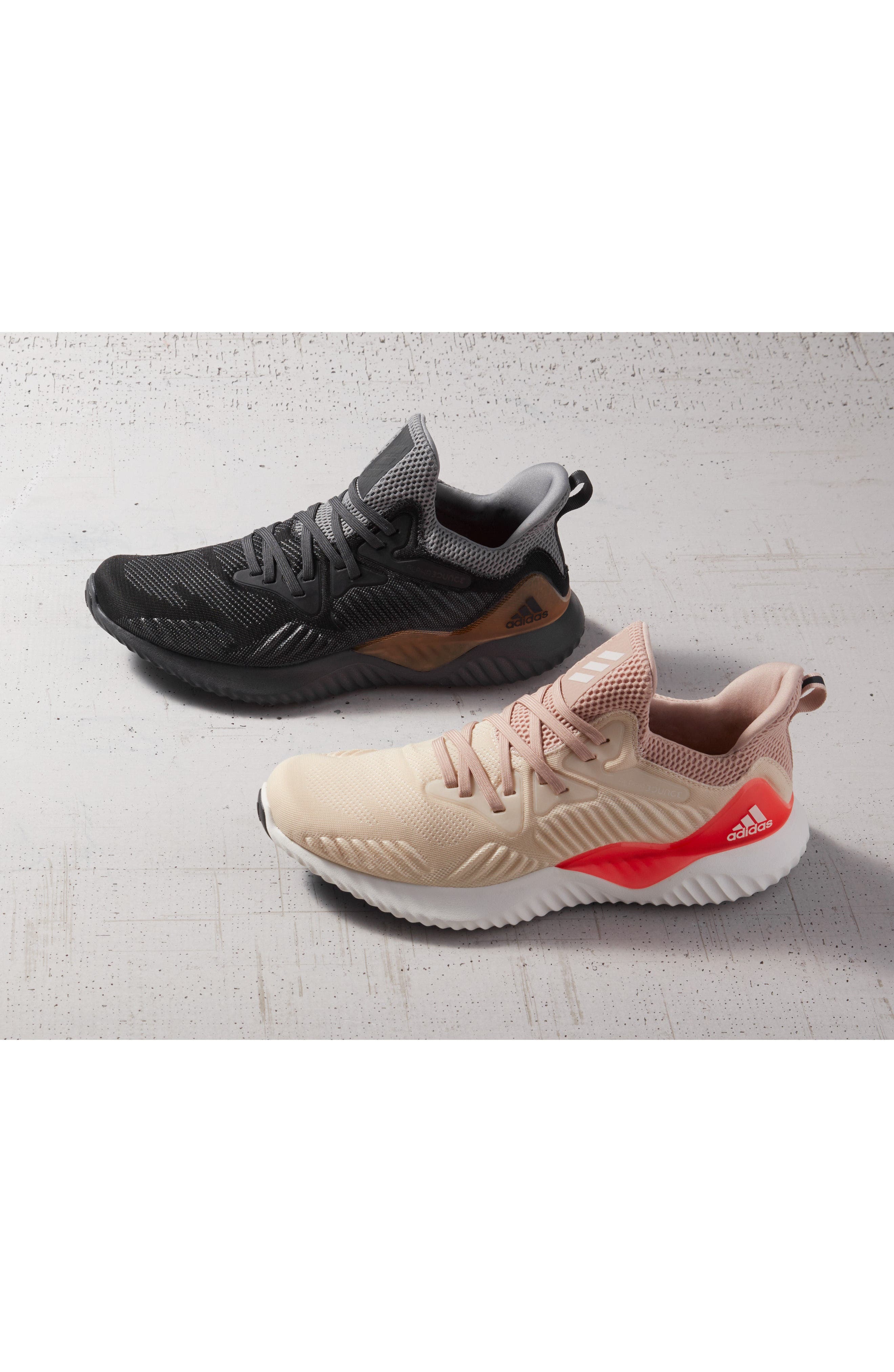 AlphaBounce Beyond Knit Running Shoe,                             Alternate thumbnail 7, color,