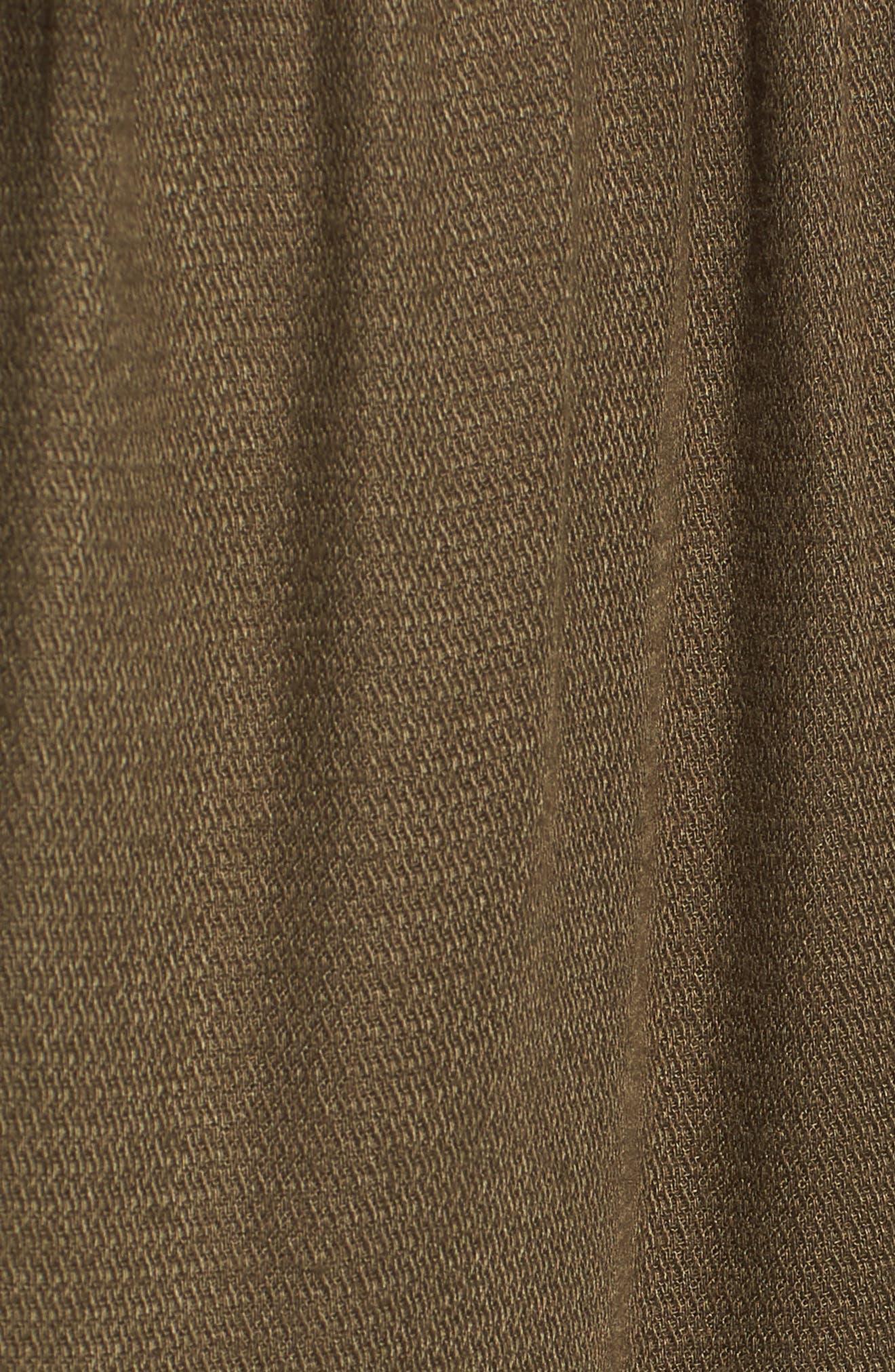 Vary Yume Shorts,                             Alternate thumbnail 6, color,                             Burnt Olive
