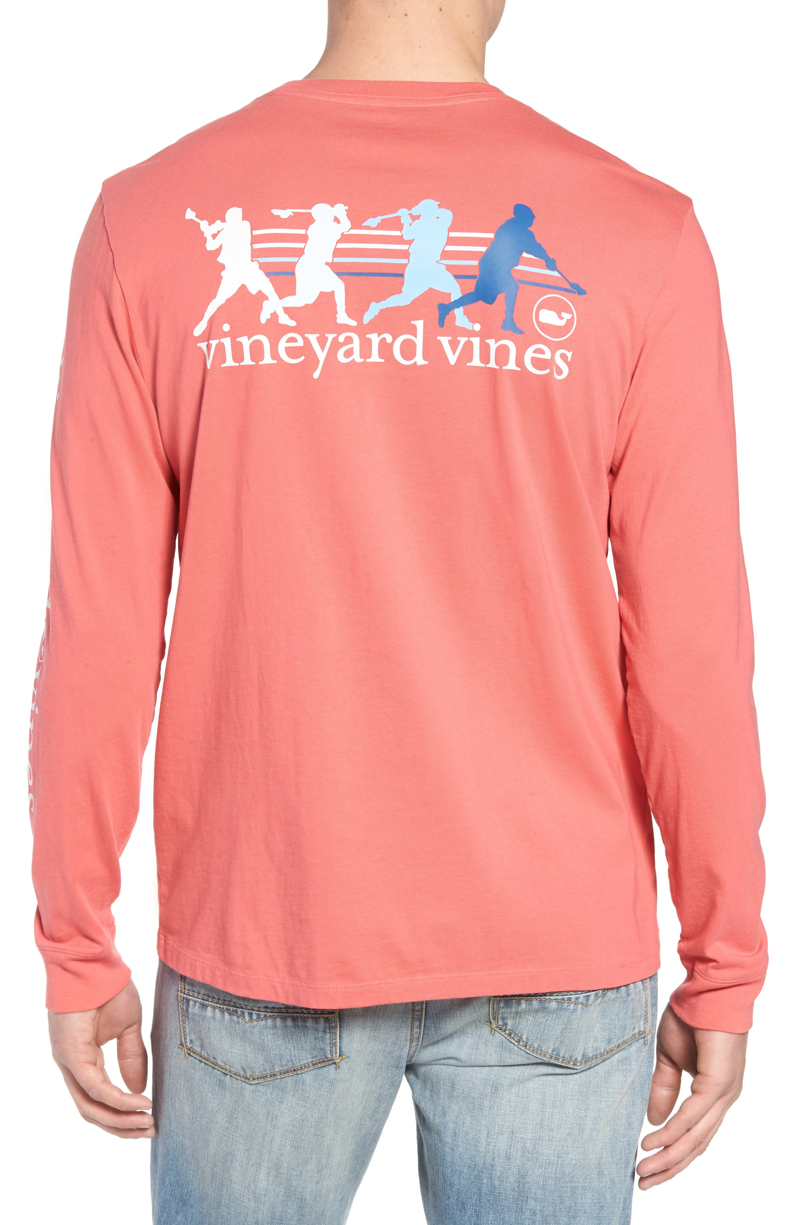 Wind Up Shot Pocket T-Shirt,                             Alternate thumbnail 2, color,                             Jetty Red