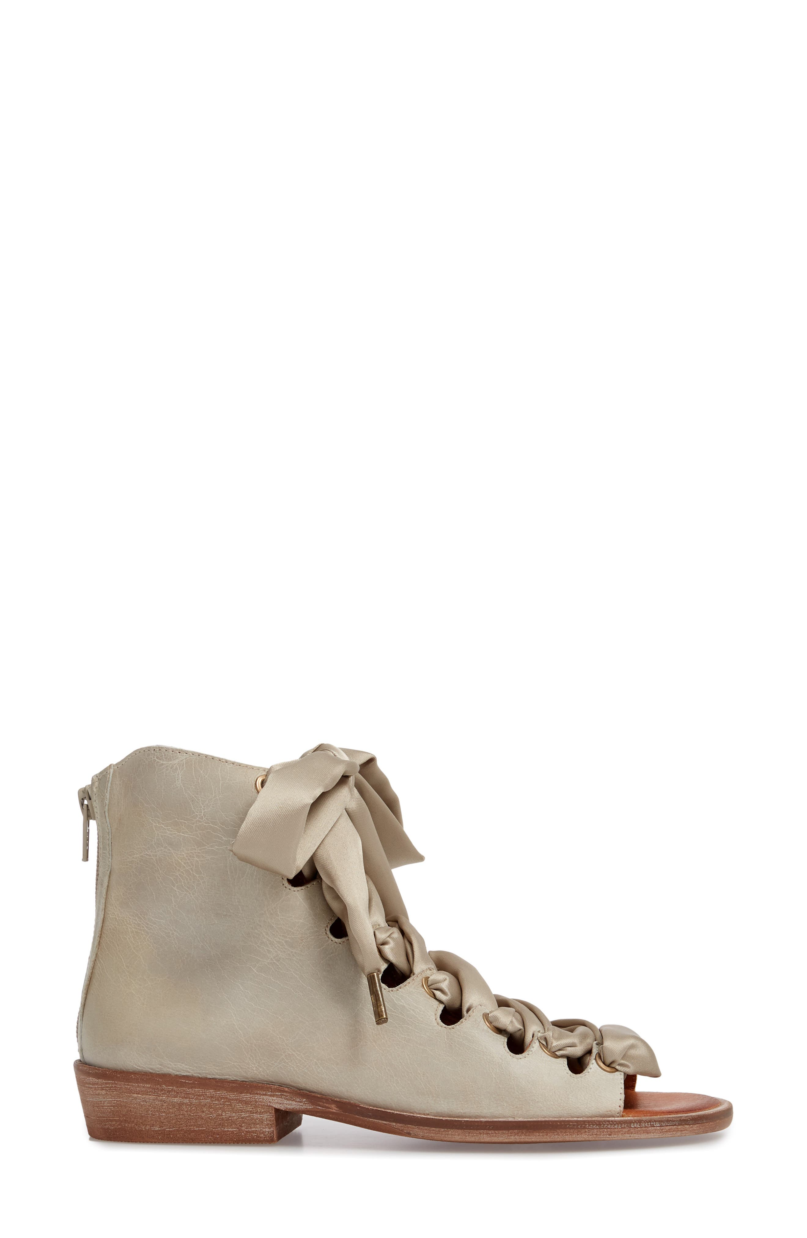 Alternate Image 3  - Free People Palms Lace-Up Bootie Sandal (Women)