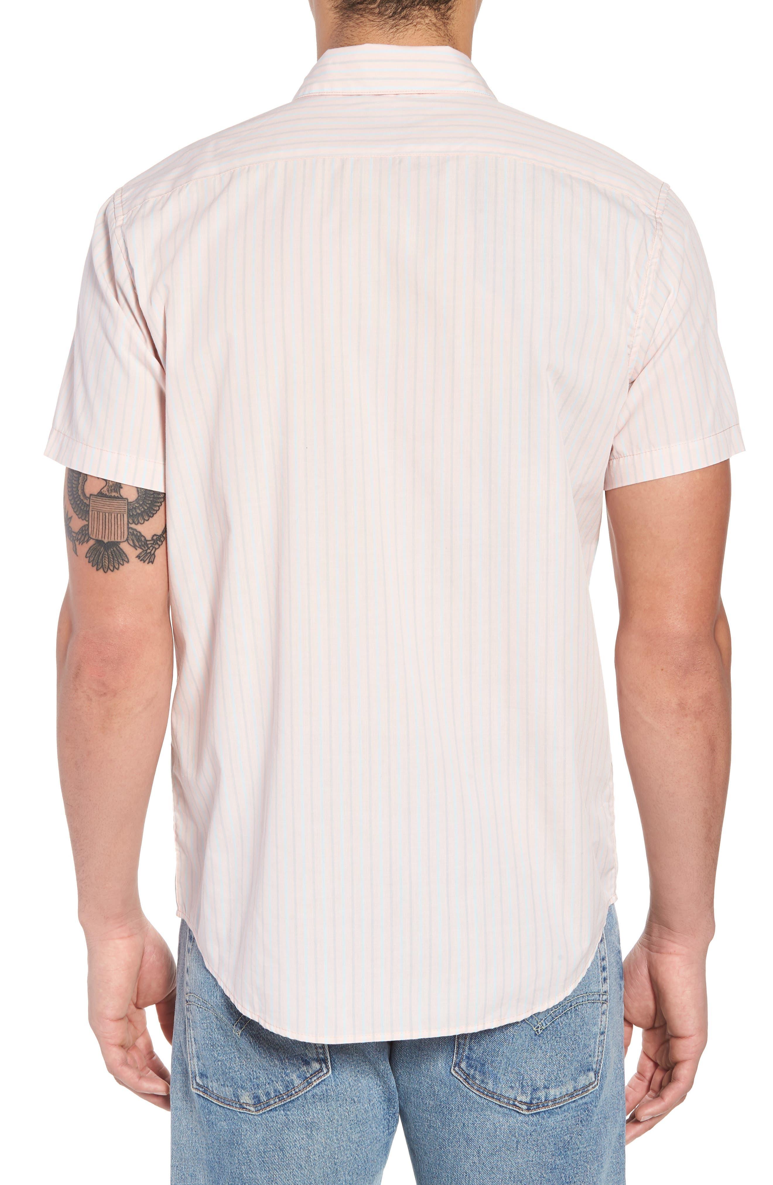 Alternate Image 2  - RVCA Everyday Stripe Shirt