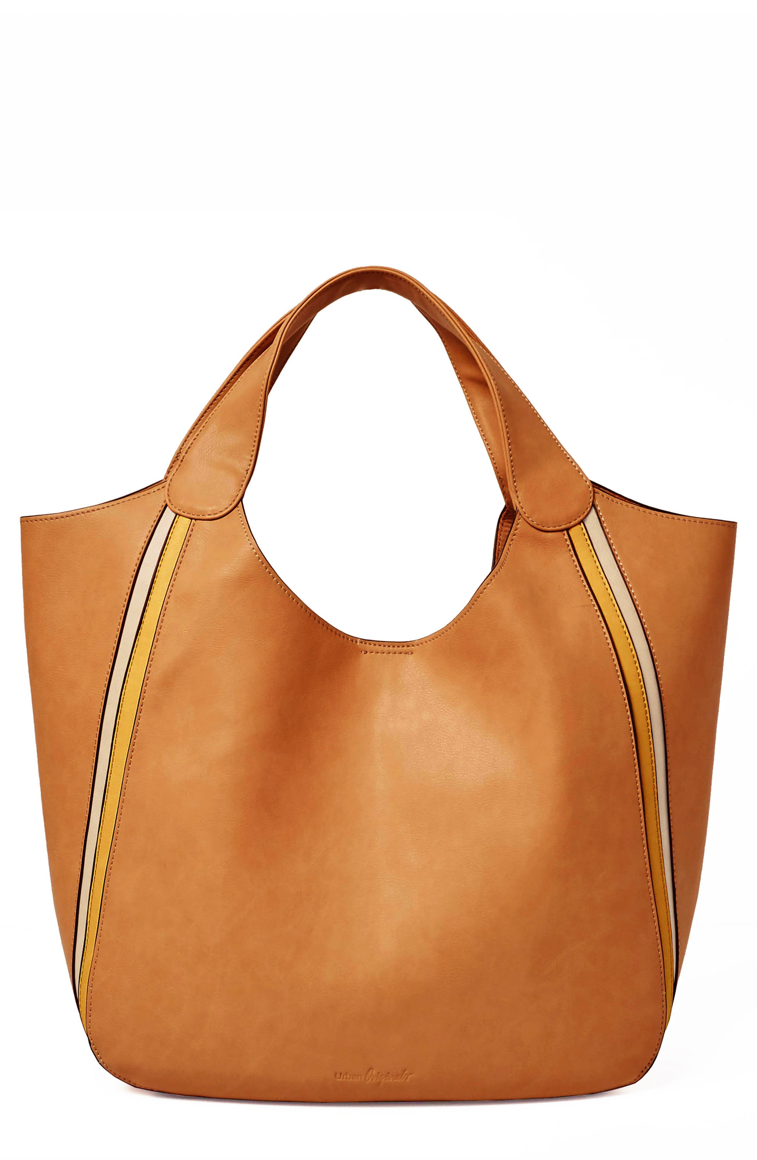 Urban Originals Viva Vegan Leather Tote with Removable Zip Pouch