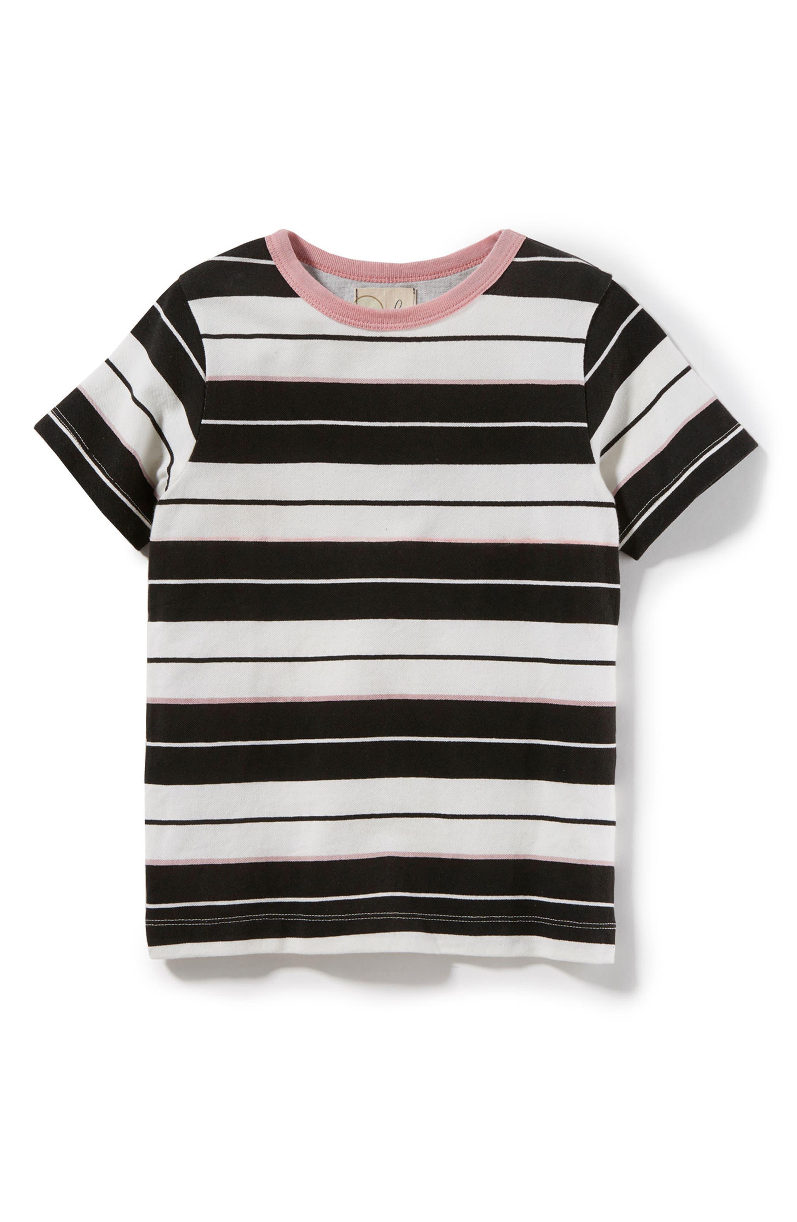 Peek Stripe Piqué Shirt (Toddler Boys, Little Boys & Big Boys)