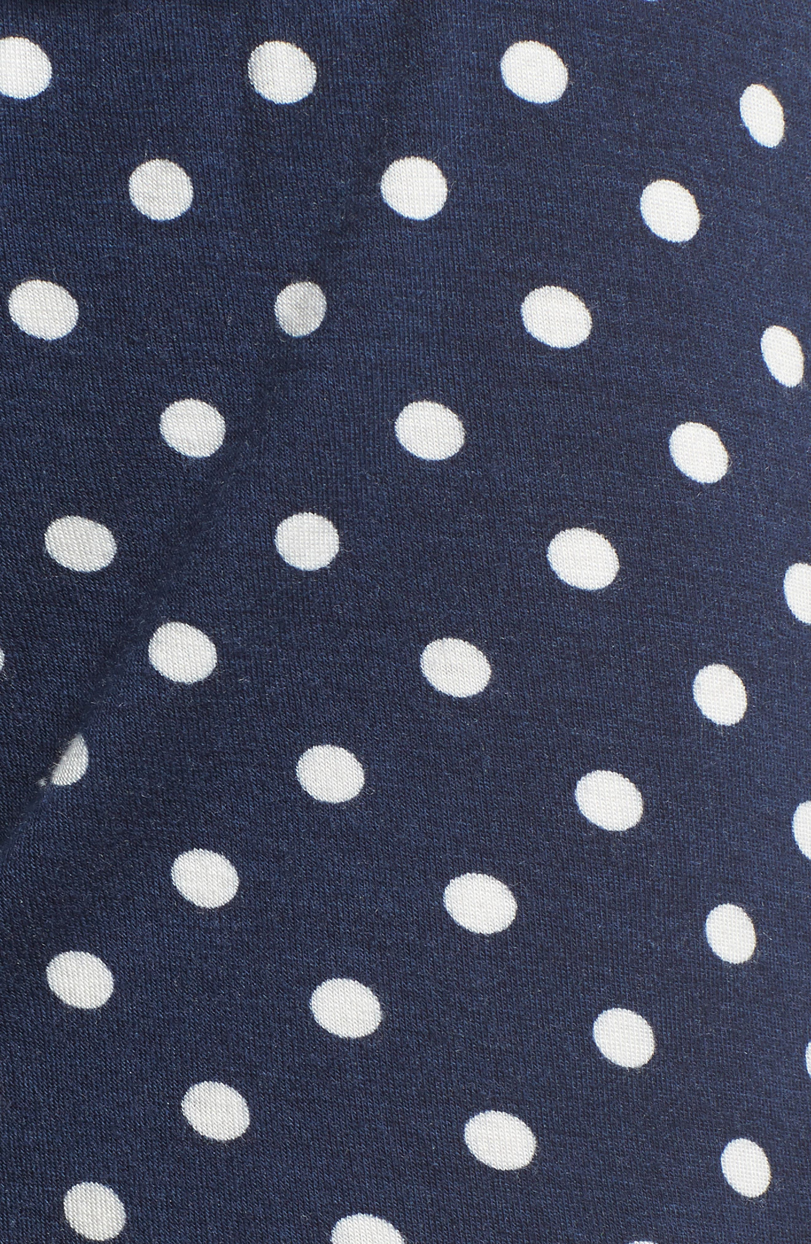 Pajama Shorts,                             Alternate thumbnail 5, color,                             Navy