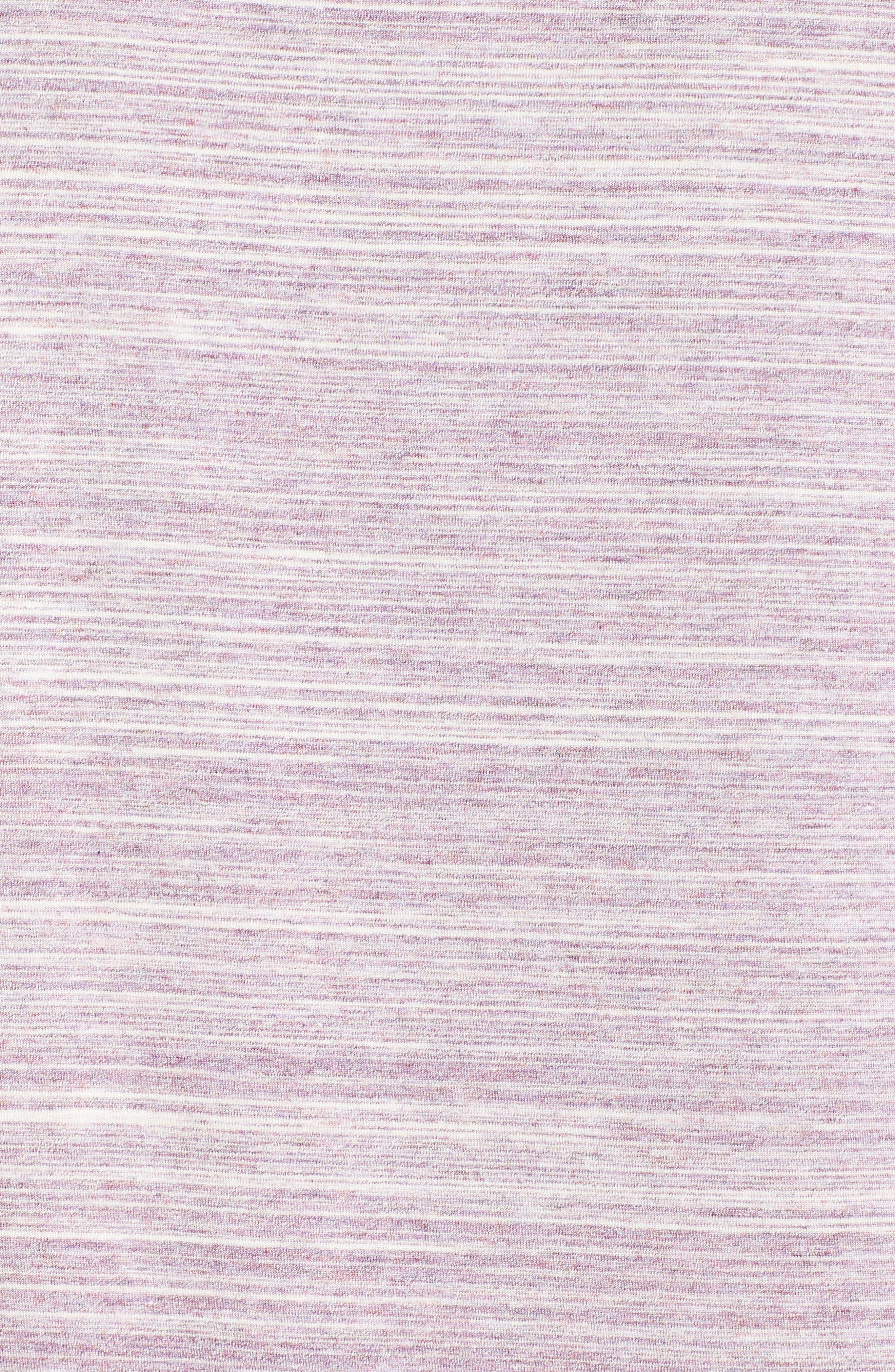 Moonlight Sleep Shirt,                             Alternate thumbnail 5, color,                             Purple Spacedye