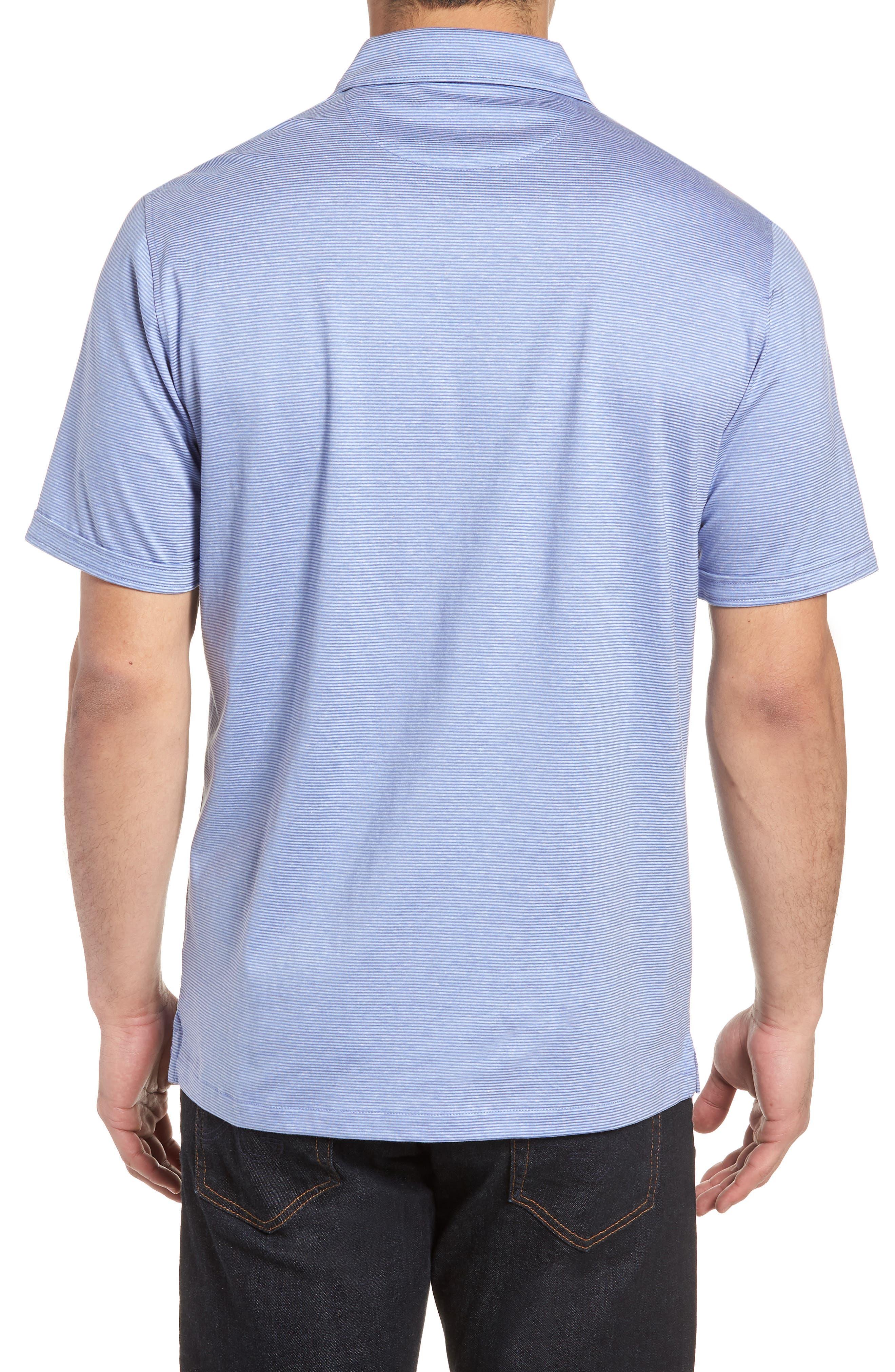 Regular Fit Knit Sport Shirt,                             Alternate thumbnail 2, color,                             Lilac