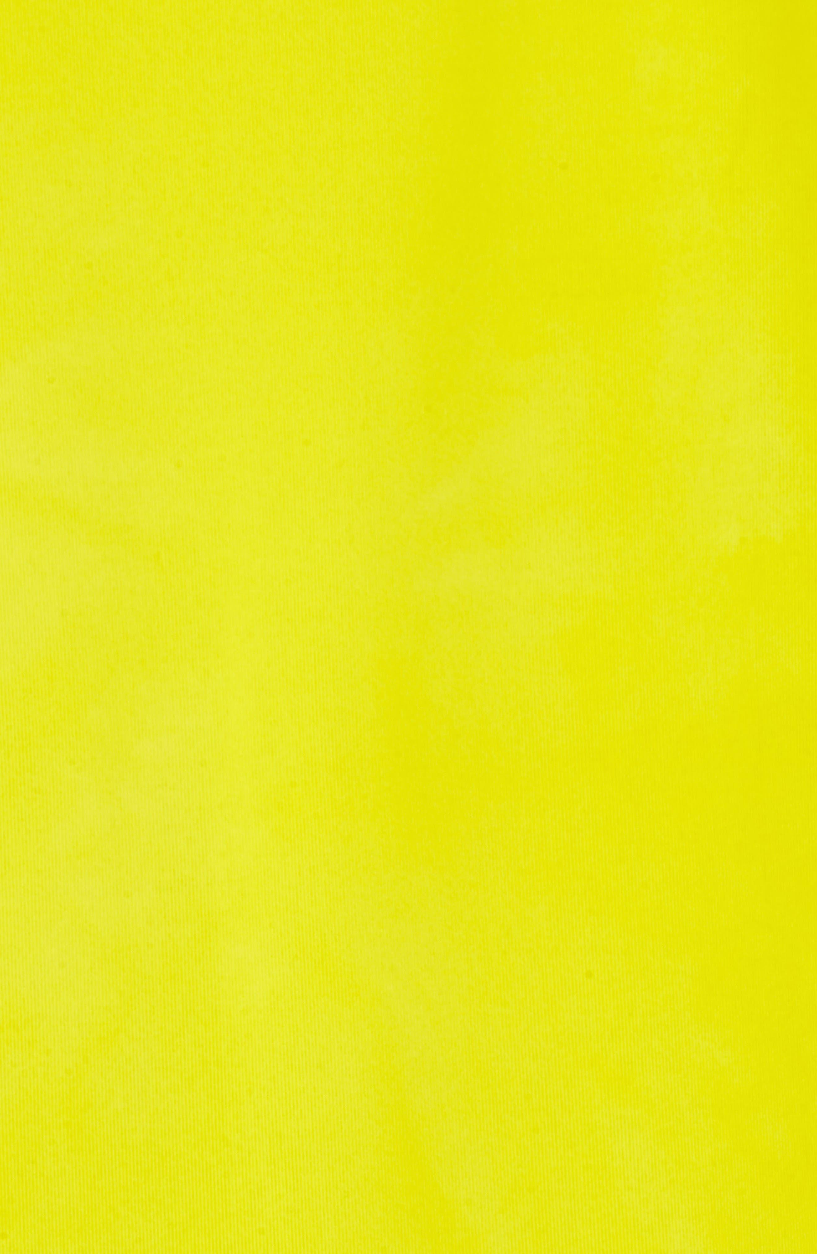 adidas Original Hu Holi T-Shirt,                             Alternate thumbnail 5, color,                             Yellow